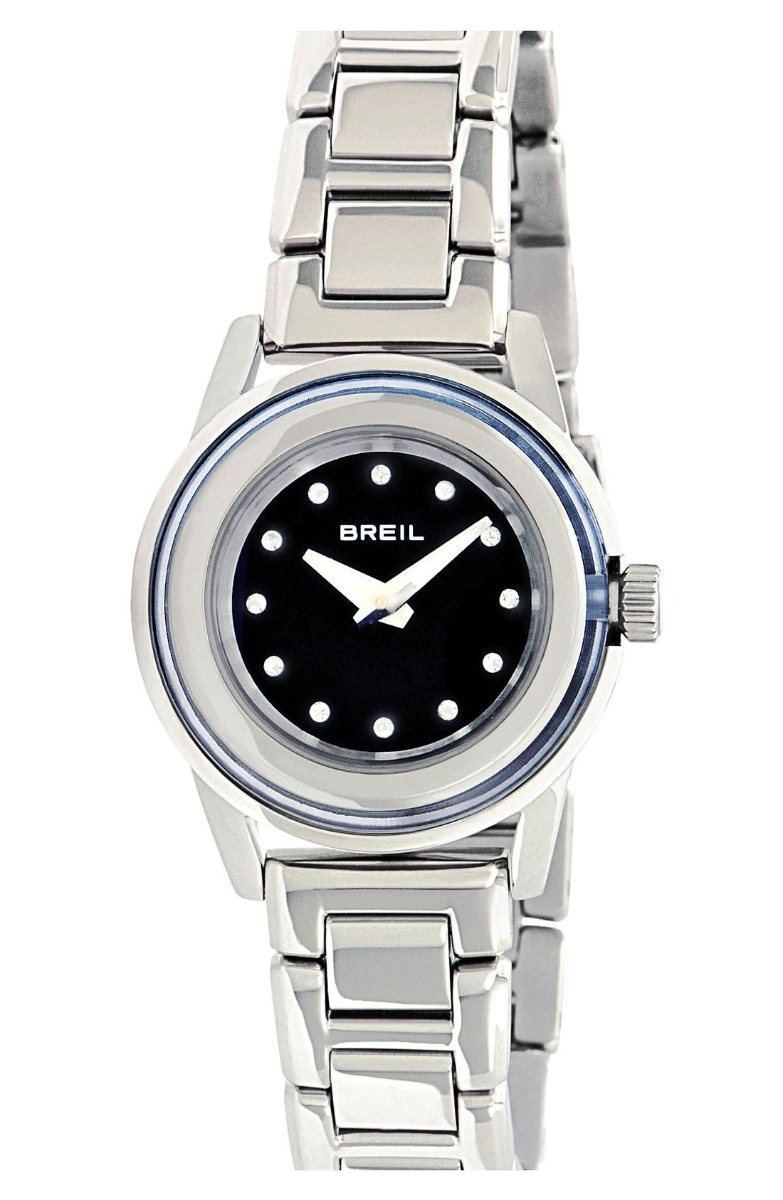 Main Image - Breil 'Orchestra' Crystal Index Bracelet Watch