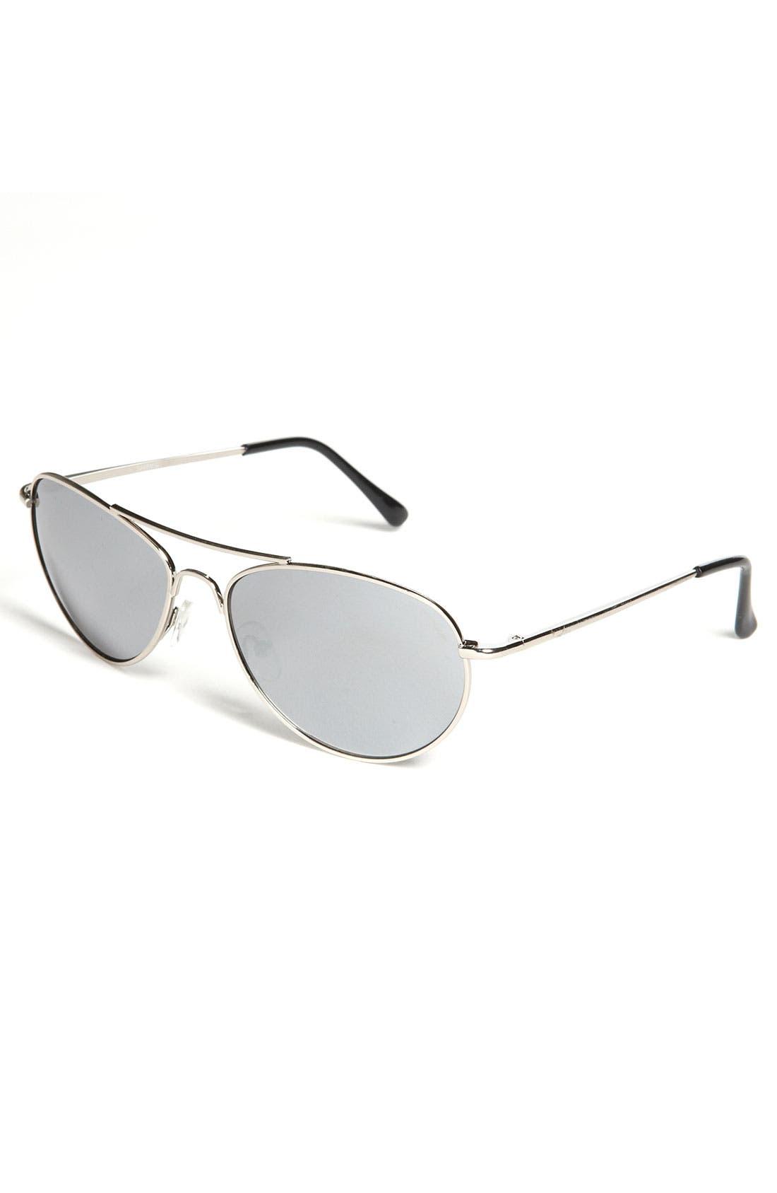 Main Image - KW Aviator Sunglasses (Big Boys)