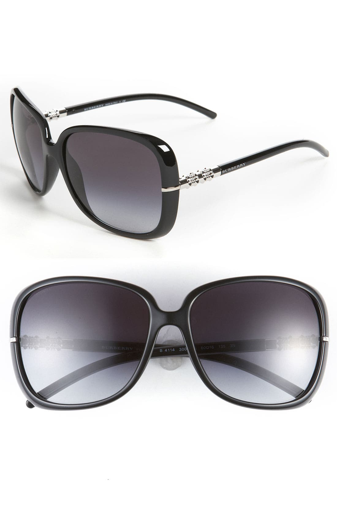 Alternate Image 1 Selected - Burberry Oversized 60mm Sunglasses