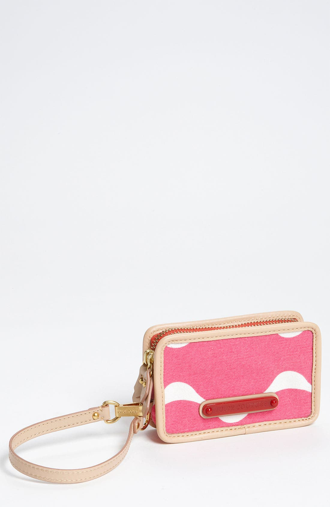 Alternate Image 1 Selected - Juicy Couture 'Crazy for Couture' Canvas Phone Wristlet