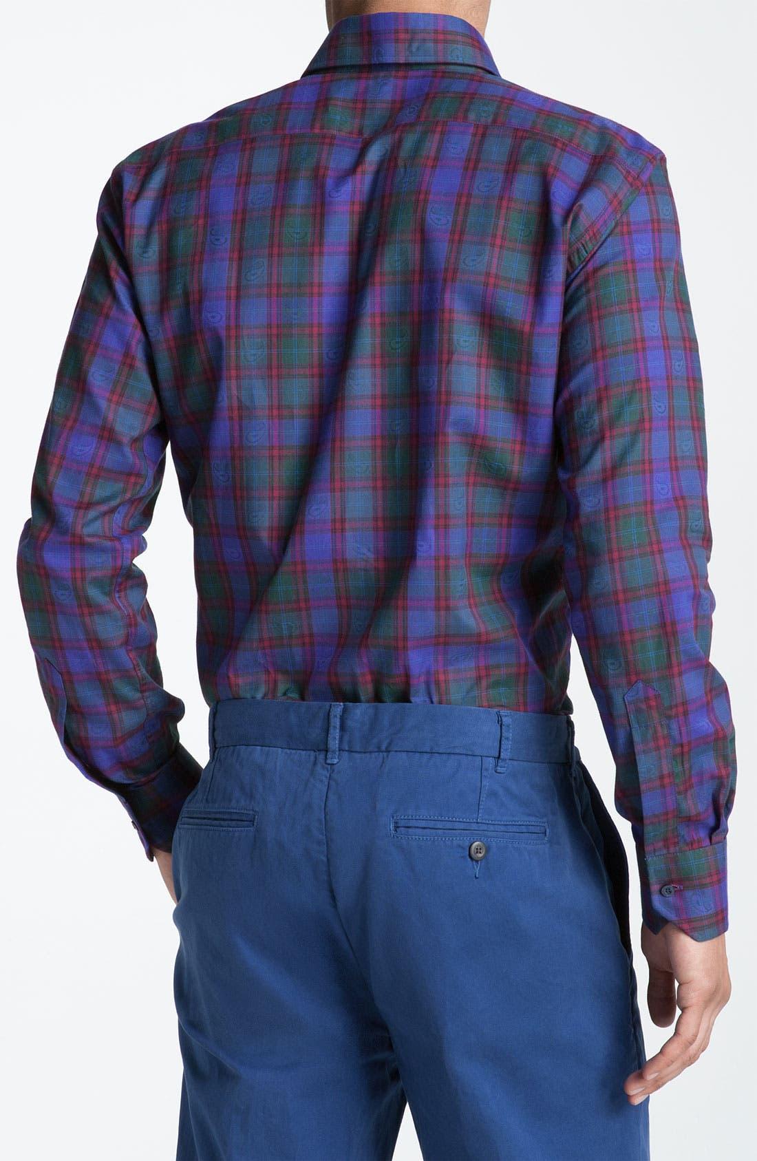Alternate Image 2  - Etro Plaid Dress Shirt