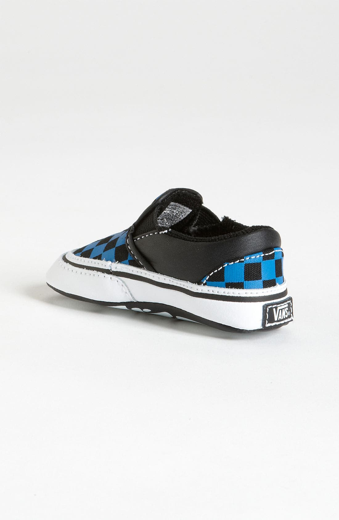 Alternate Image 2  - Vans 'Classic - Checker' Slip-On Sneaker (Baby)