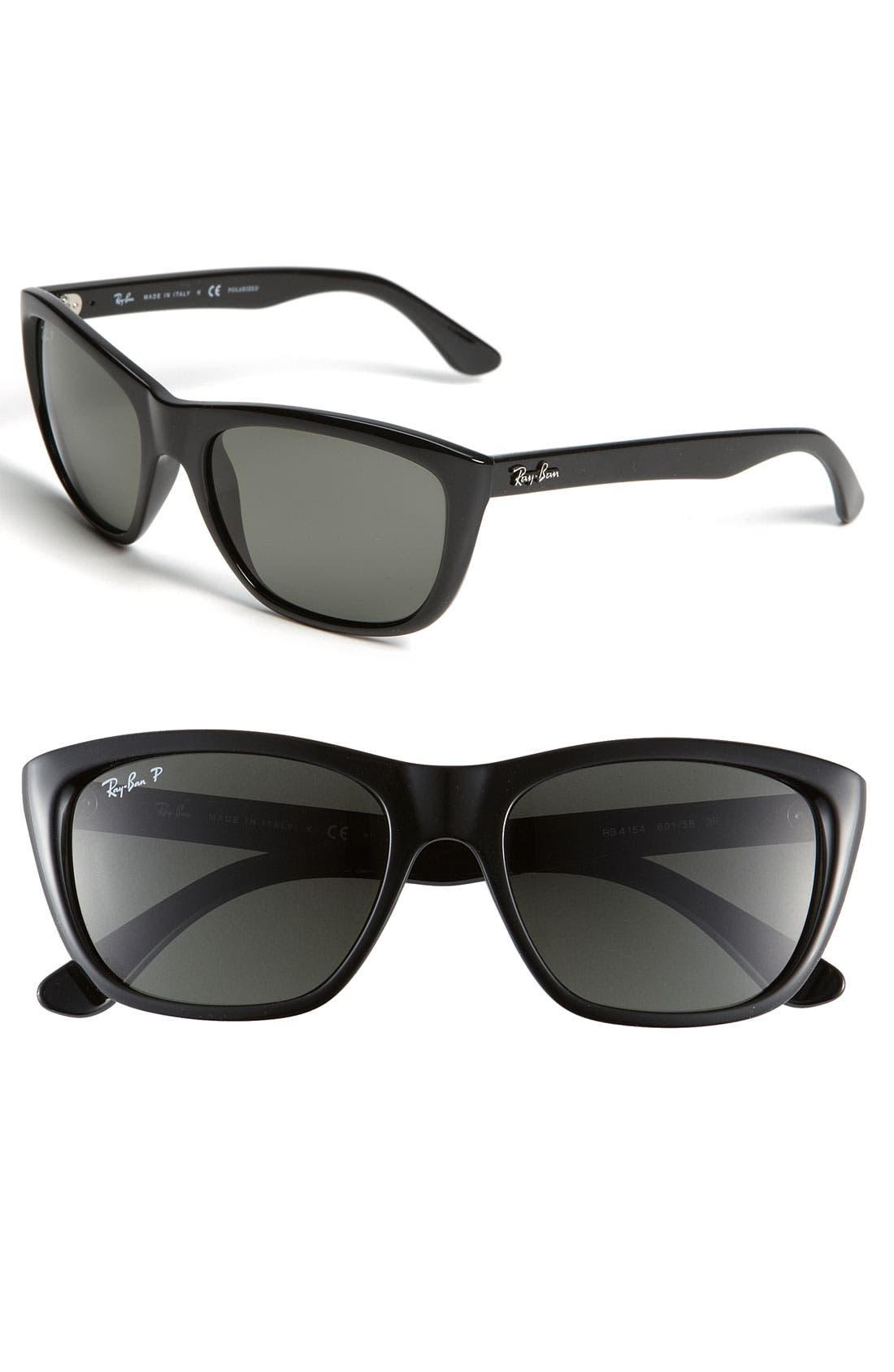 Main Image - Ray-Ban Polarized 55mm Sunglasses