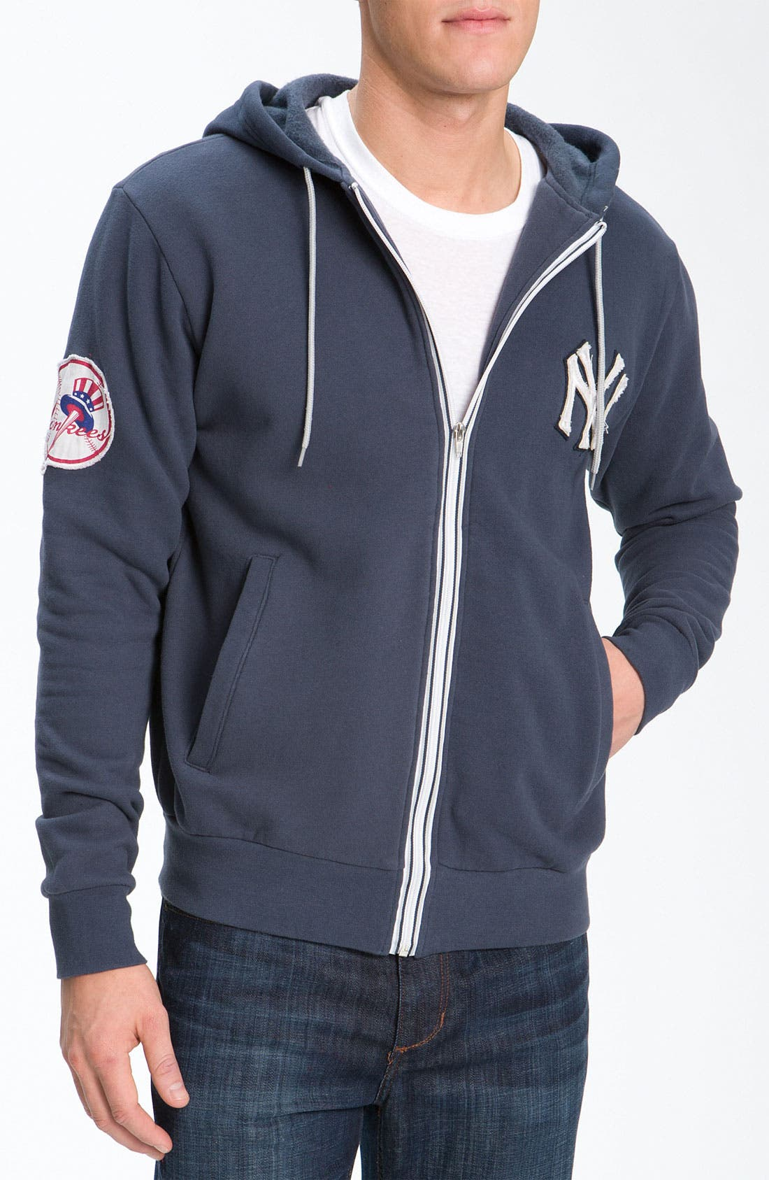 Main Image - Wright & Ditson 'New York Yankees' Hoodie