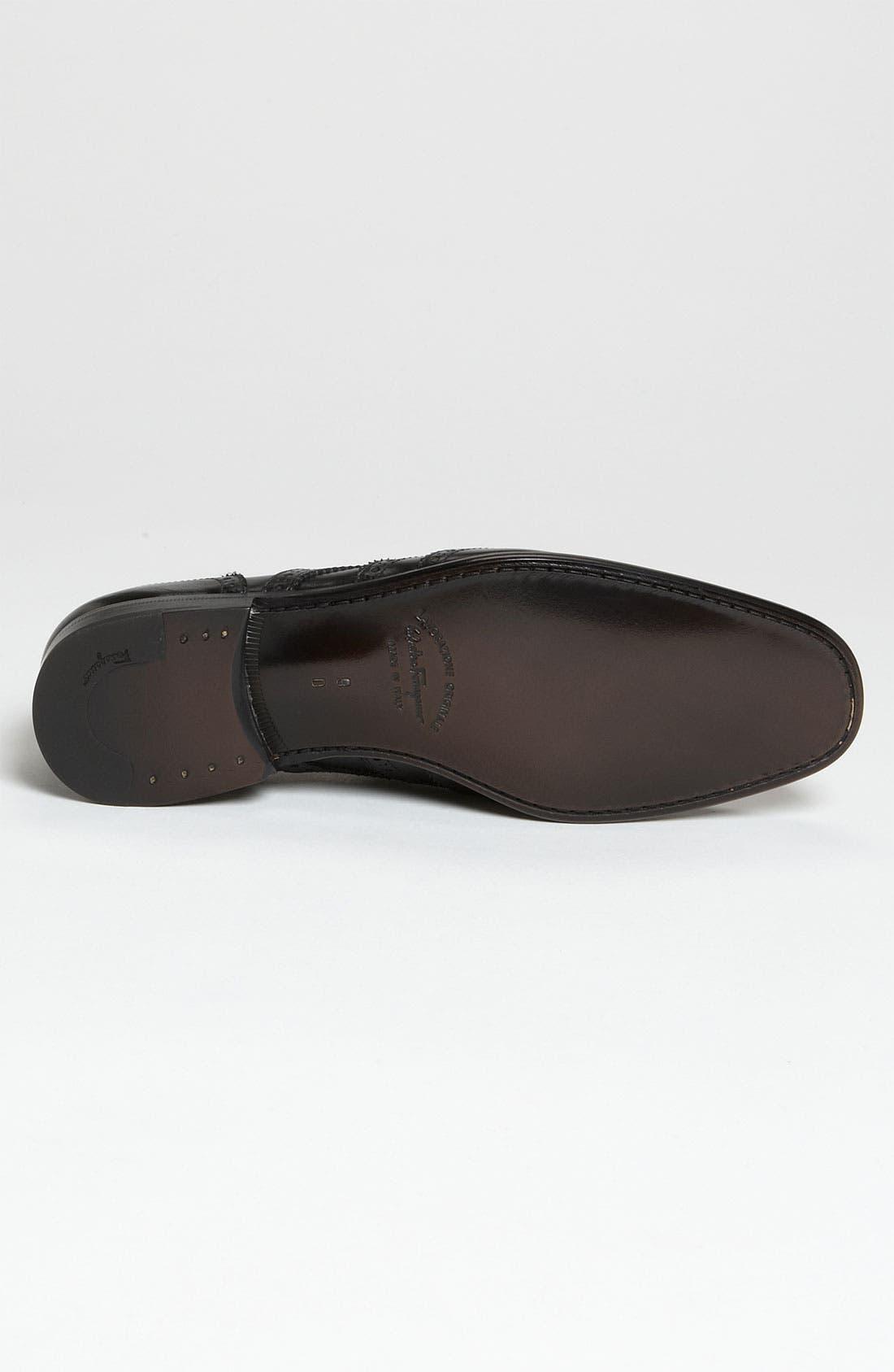 Alternate Image 4  - Salvatore Ferragamo 'Beltramo 2' Loafer