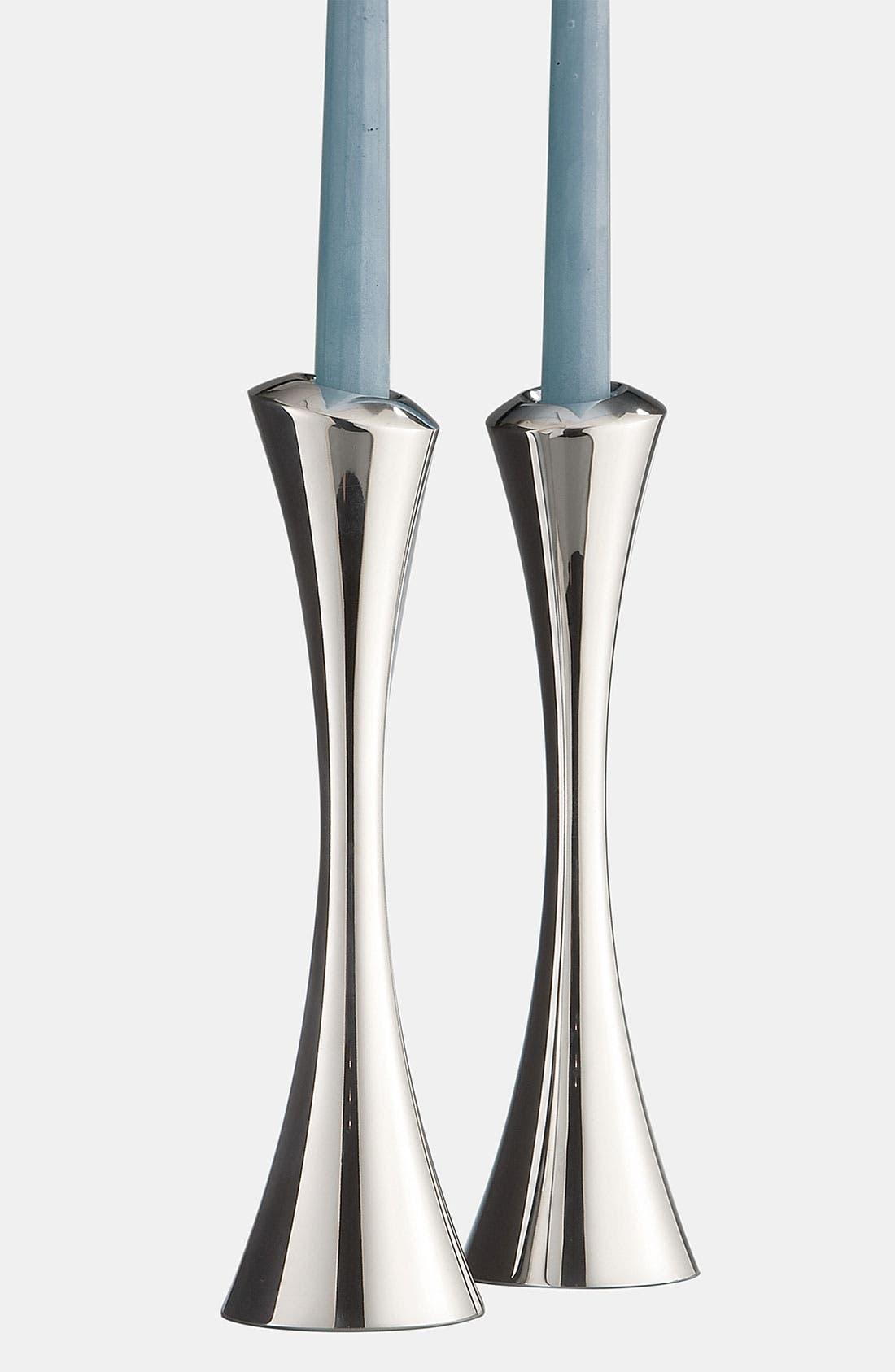 Nambé Aquila Set of 2 Candlesticks