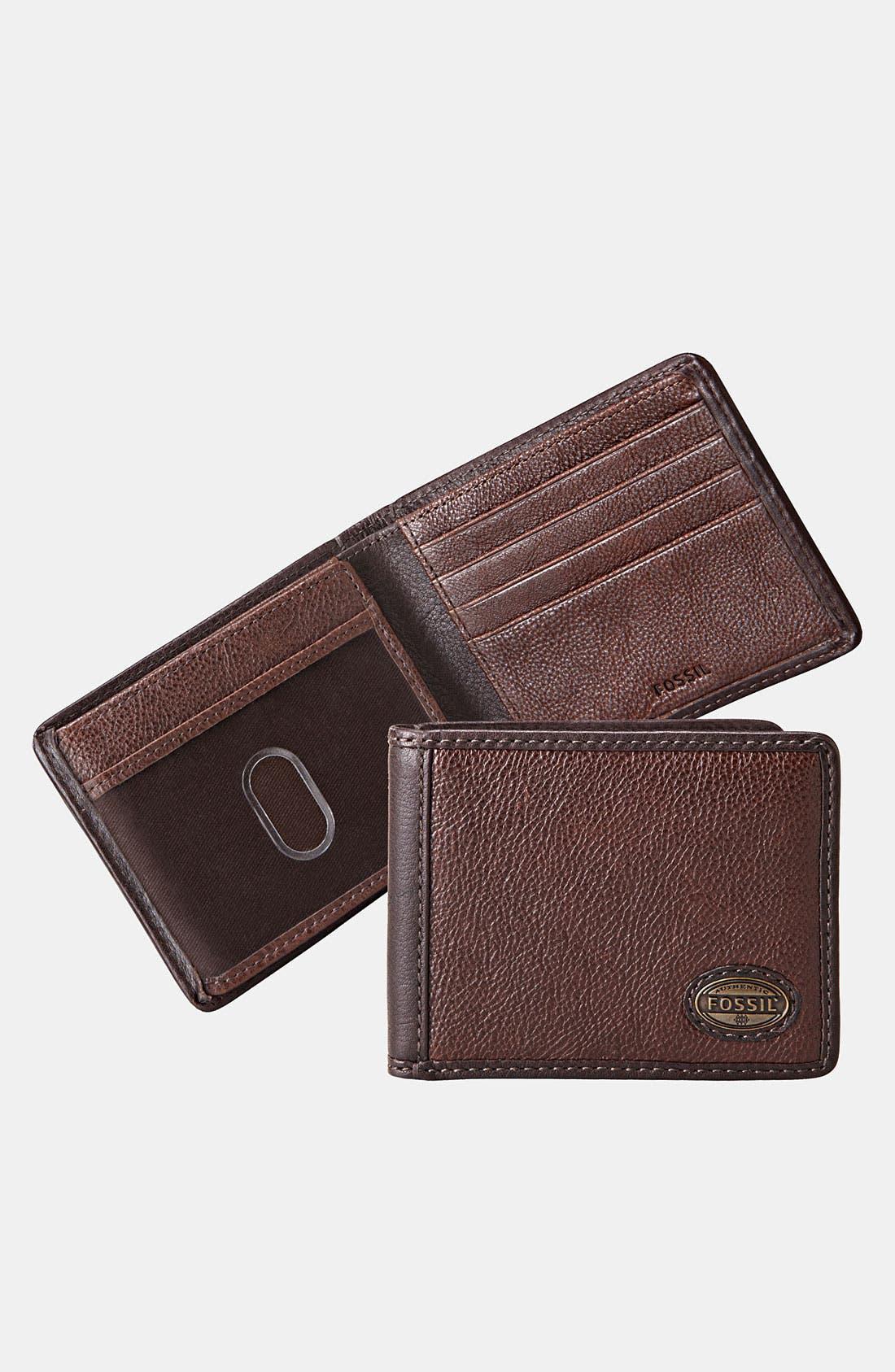 Main Image - Fossil 'Estate Traveler' Wallet
