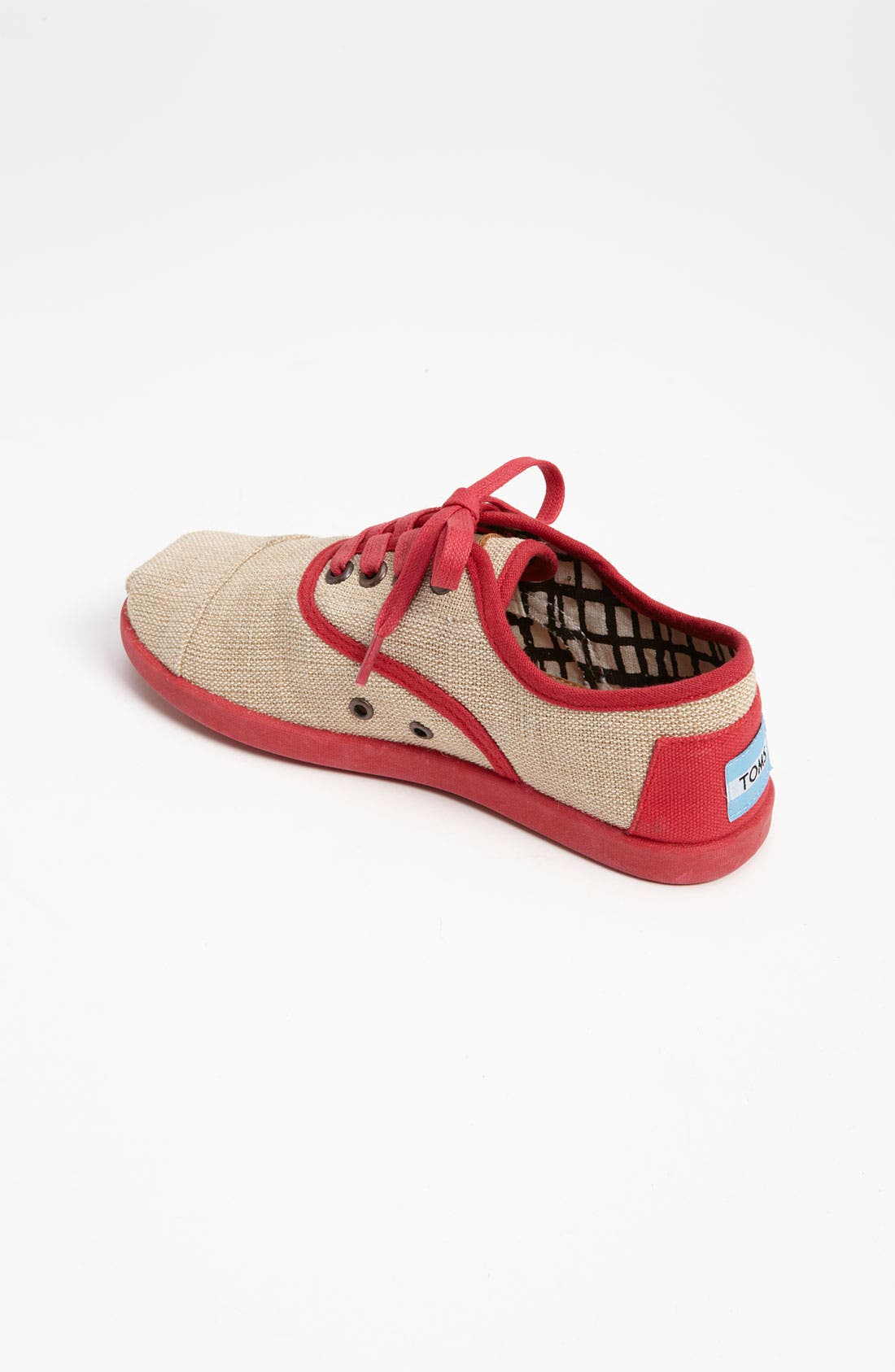 Alternate Image 2  - TOMS 'Cordones Youth - Maddox' Burlap Sneaker (Toddler, Little Kid & Big Kid)