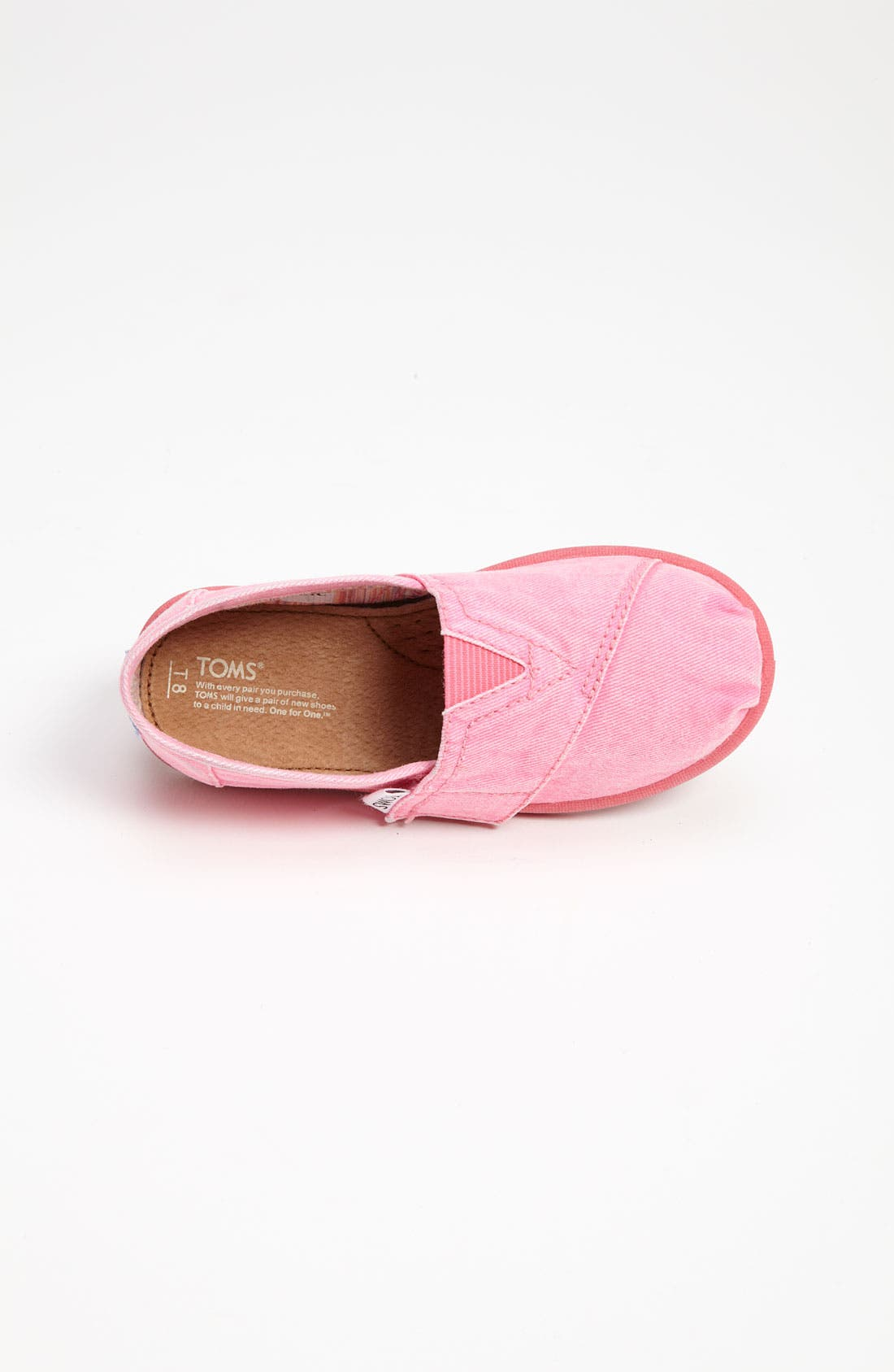 Alternate Image 3  - TOMS 'Classic Tiny - Palmetto' Canvas Slip-On (Baby, Walker & Toddler)