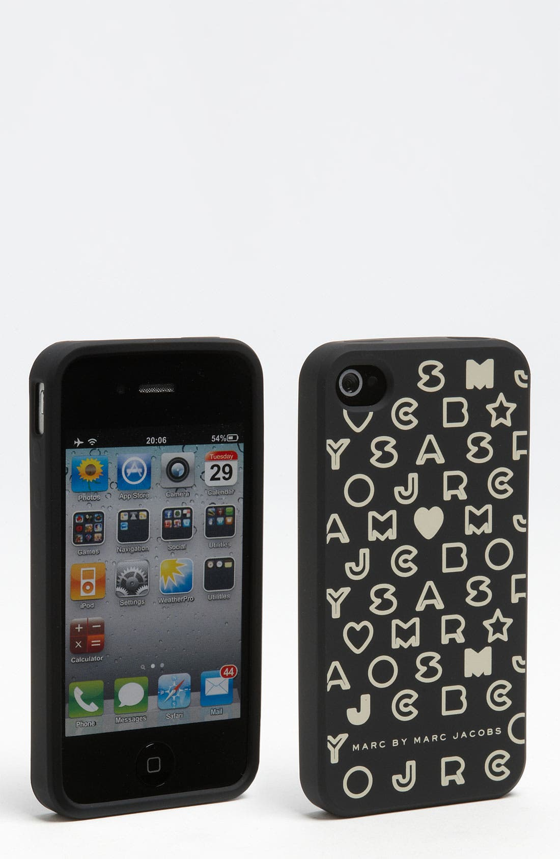 Alternate Image 1 Selected - MARC BY MARC JACOBS 'Stardust' iPhone 4 & 4S Case