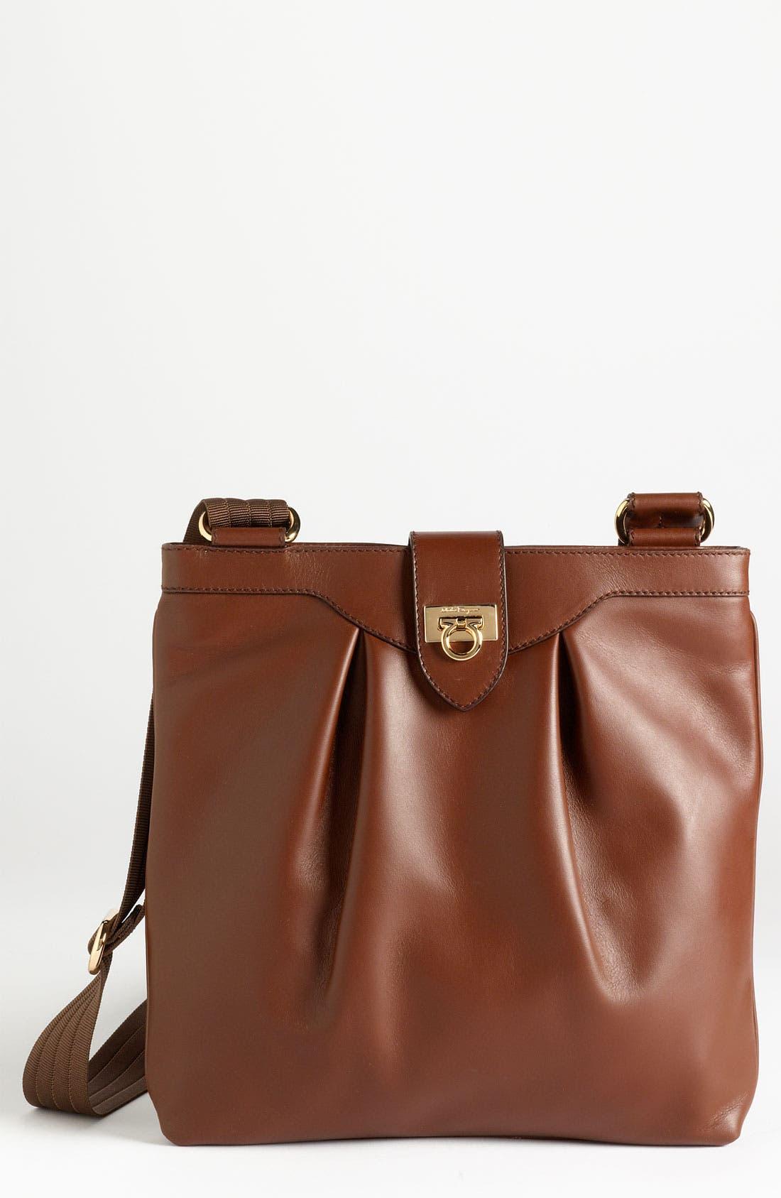 Main Image - Salvatore Ferragamo 'Graziella' Leather Crossbody Bag