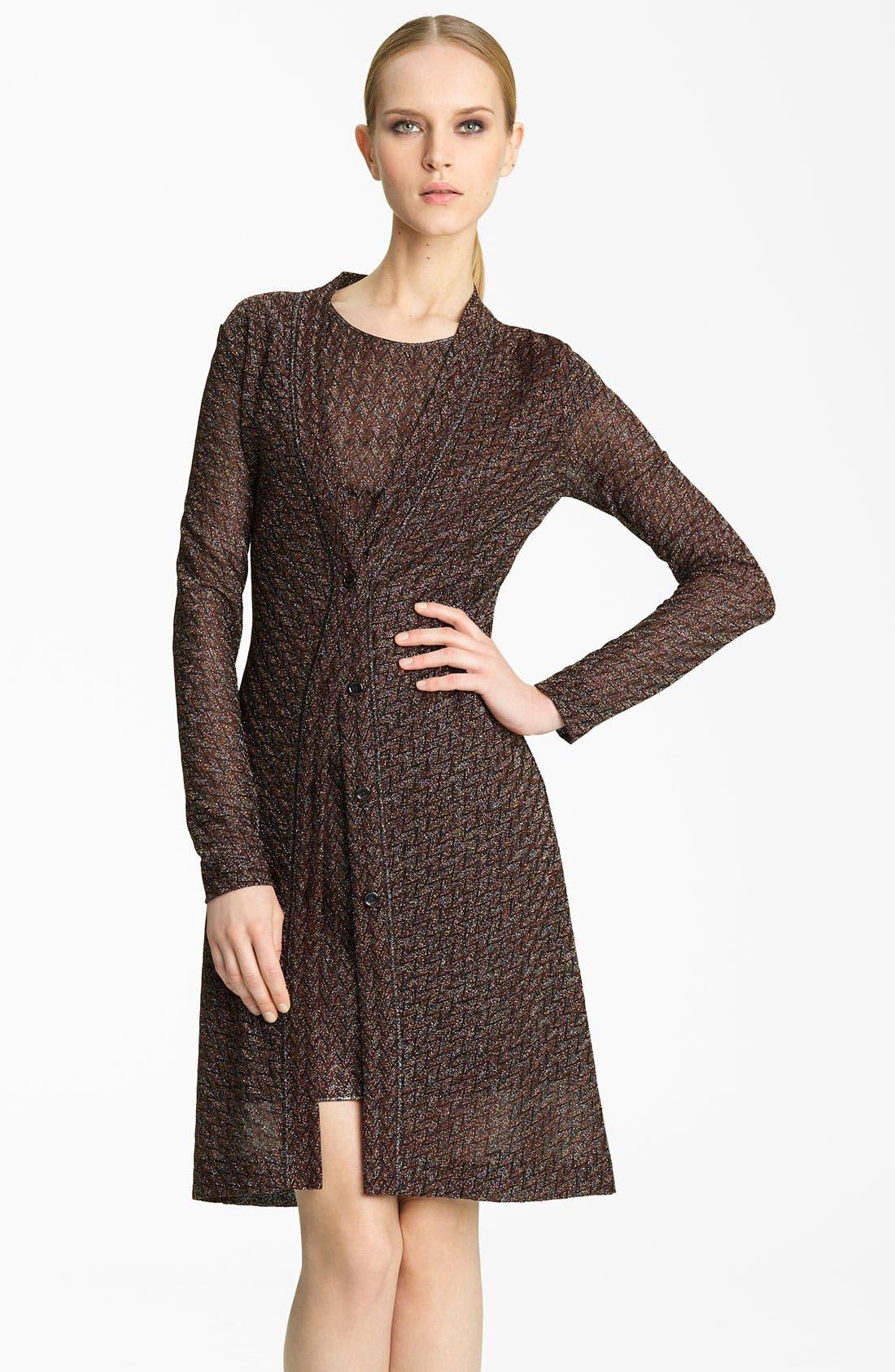 Main Image - Missoni Long Metallic Knit Cardigan