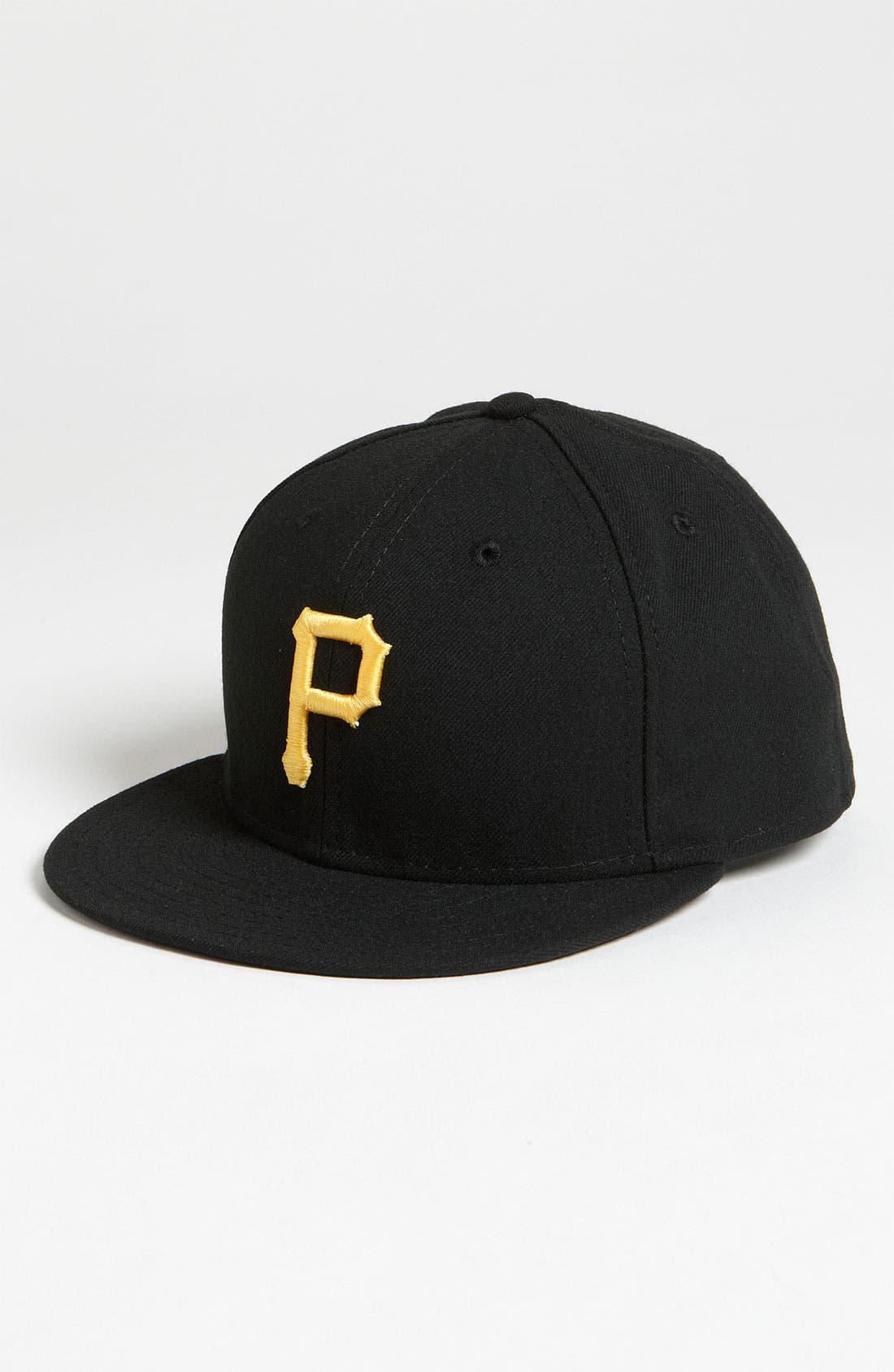 Alternate Image 1 Selected - New Era Cap 'Pittsburgh Pirates' Baseball Cap