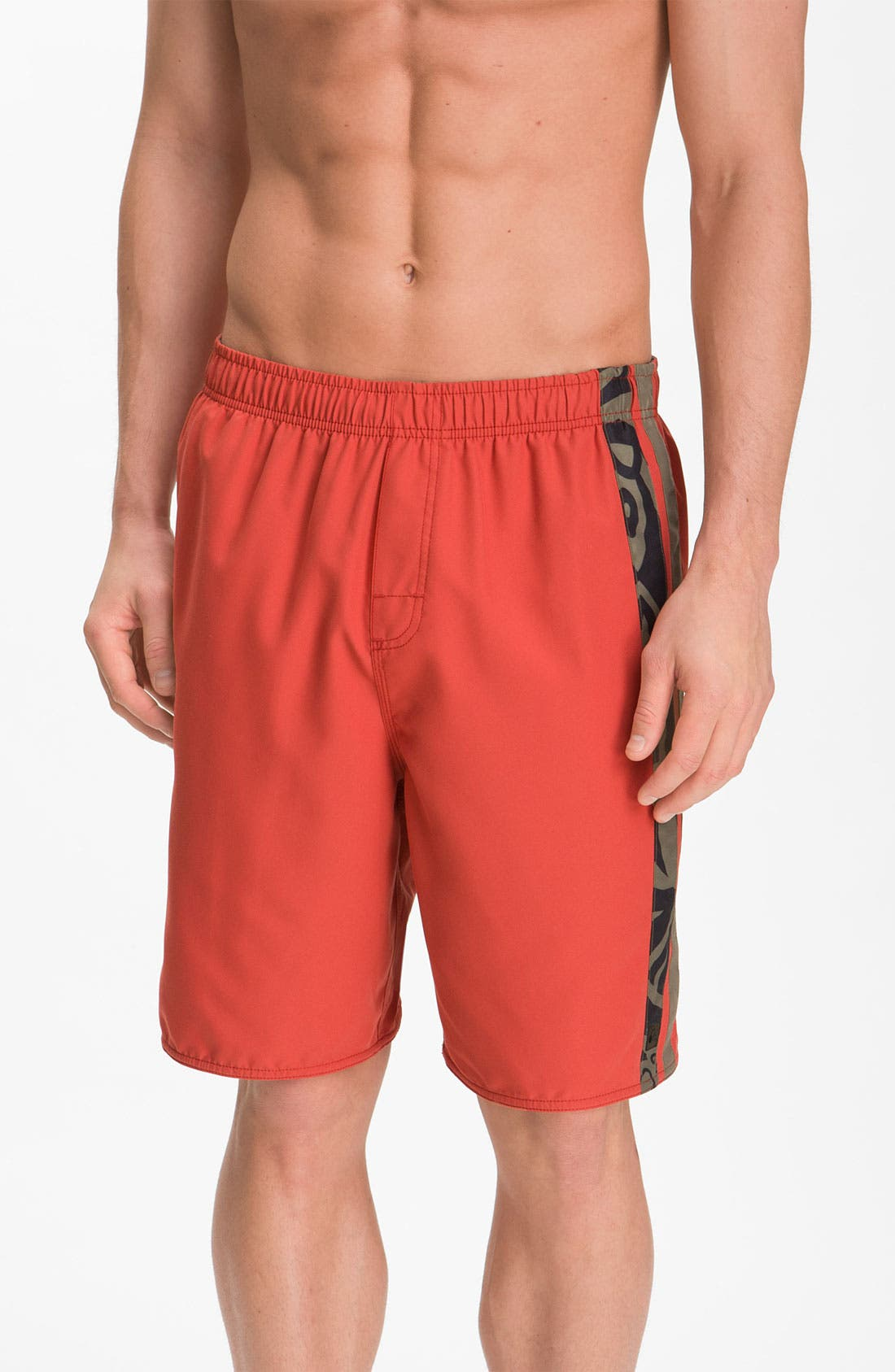 Alternate Image 1 Selected - Quiksilver Waterman Collection 'Avalanche' Swim Trunks