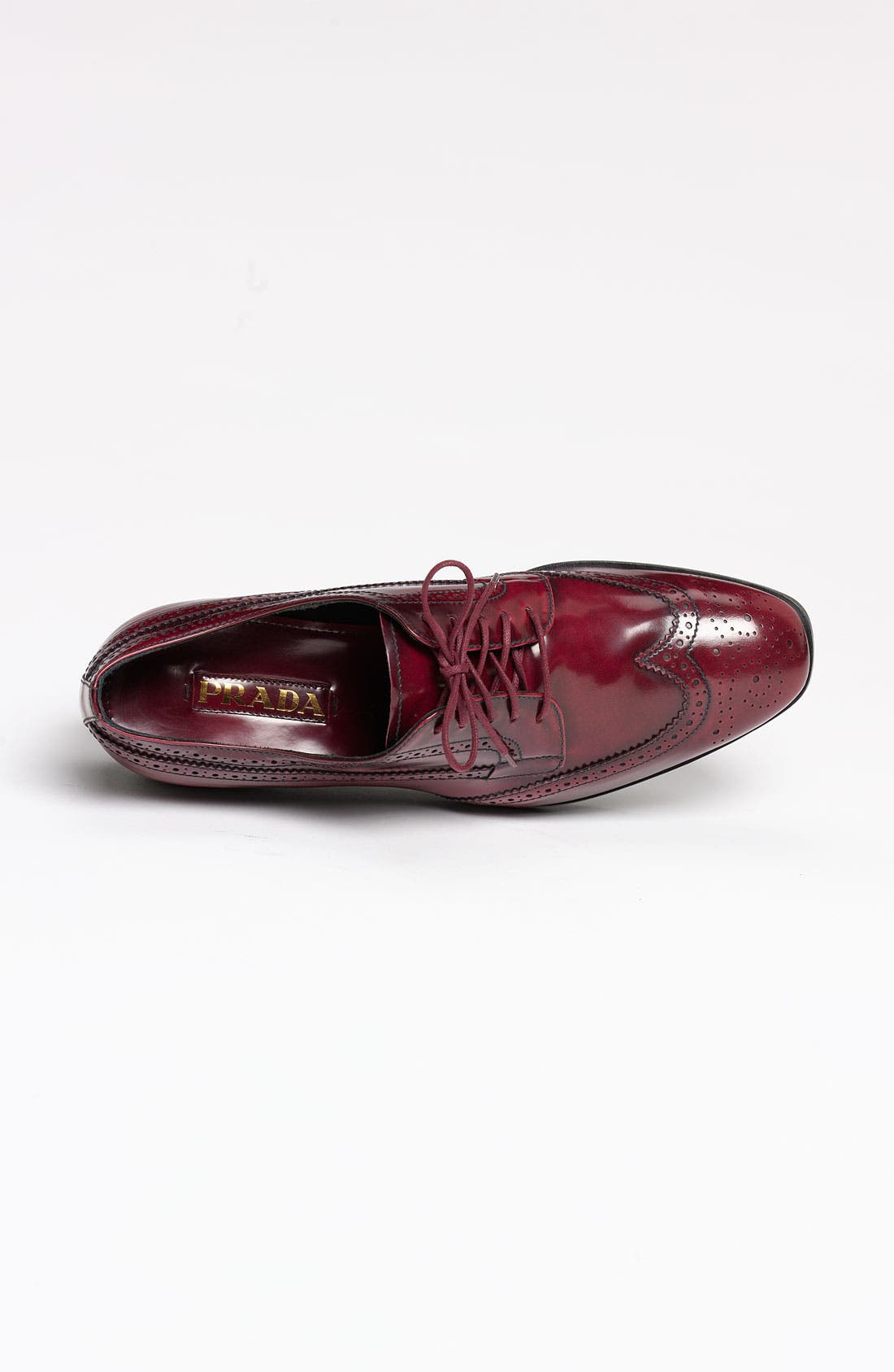 Alternate Image 3  - Prada Brogue Platform Oxford