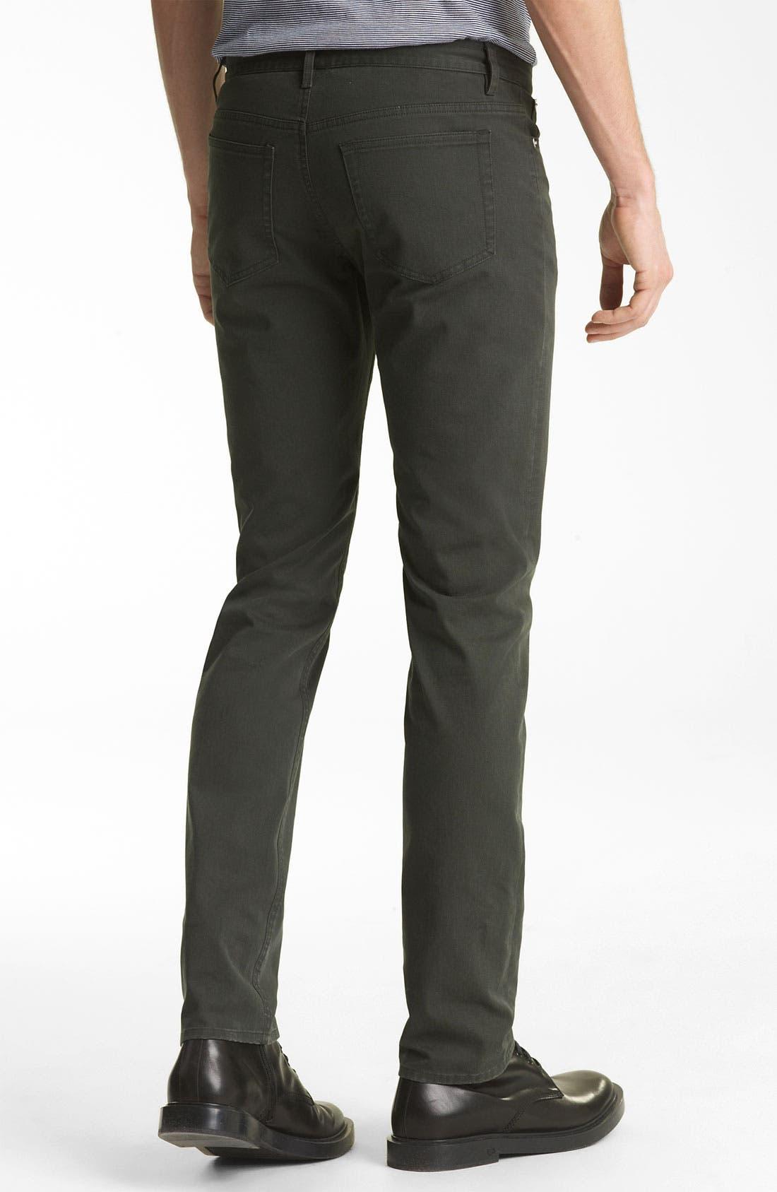Alternate Image 2  - A.P.C. 'Petit' Slim Straight Leg Chinos
