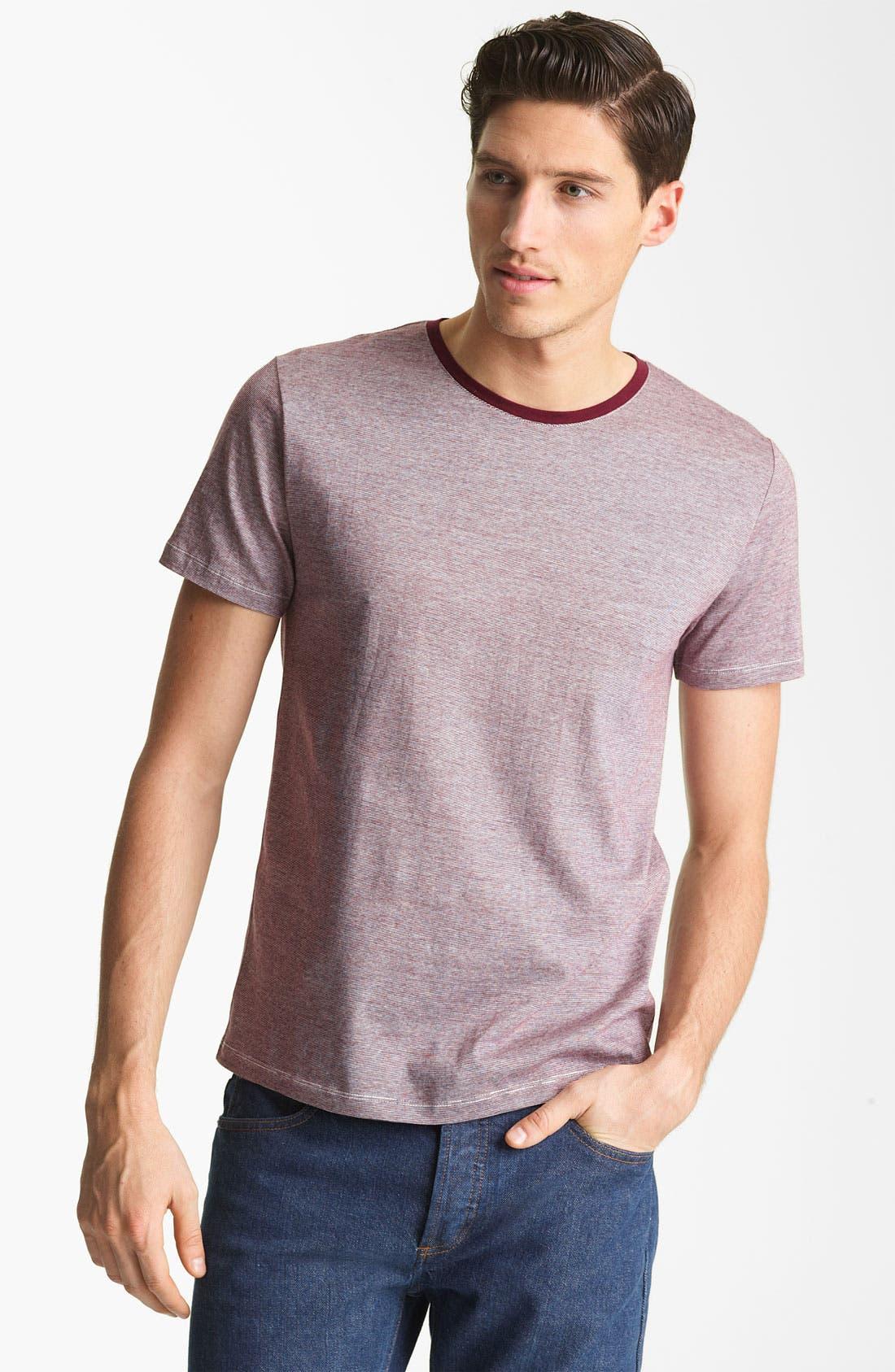 Alternate Image 1 Selected - A.P.C. Stripe T-Shirt