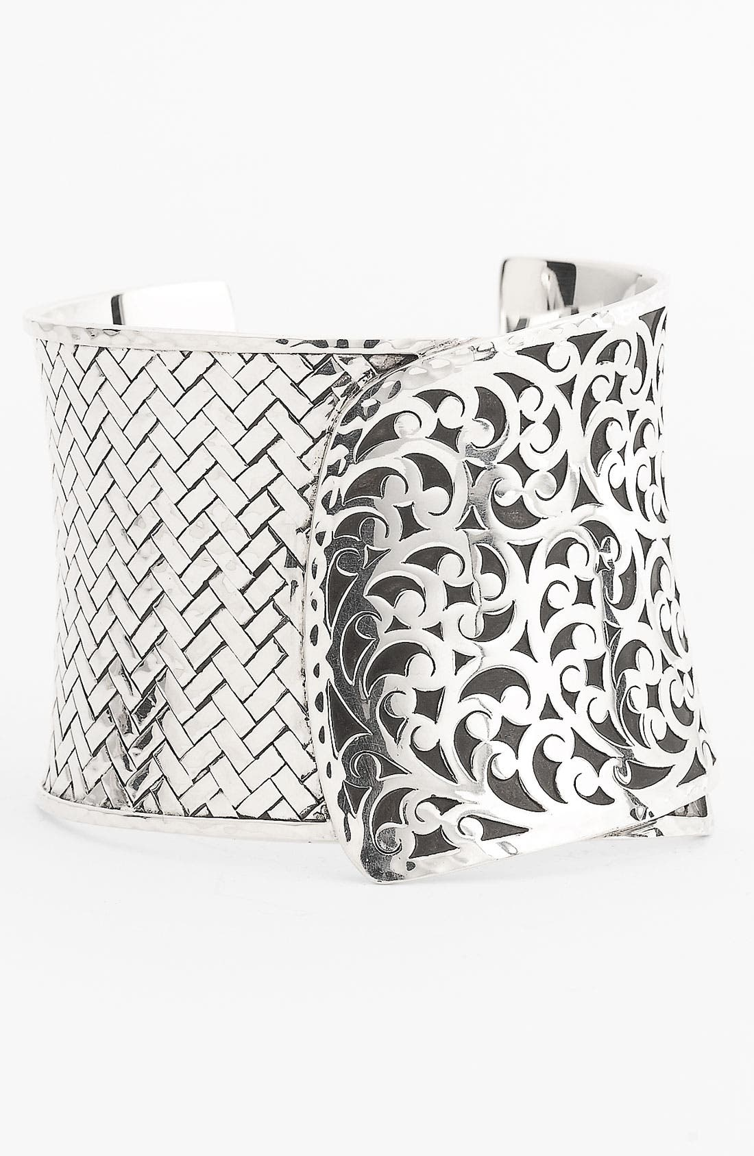 Alternate Image 1 Selected - Lois Hill 'Basket Weave' Large Cuff