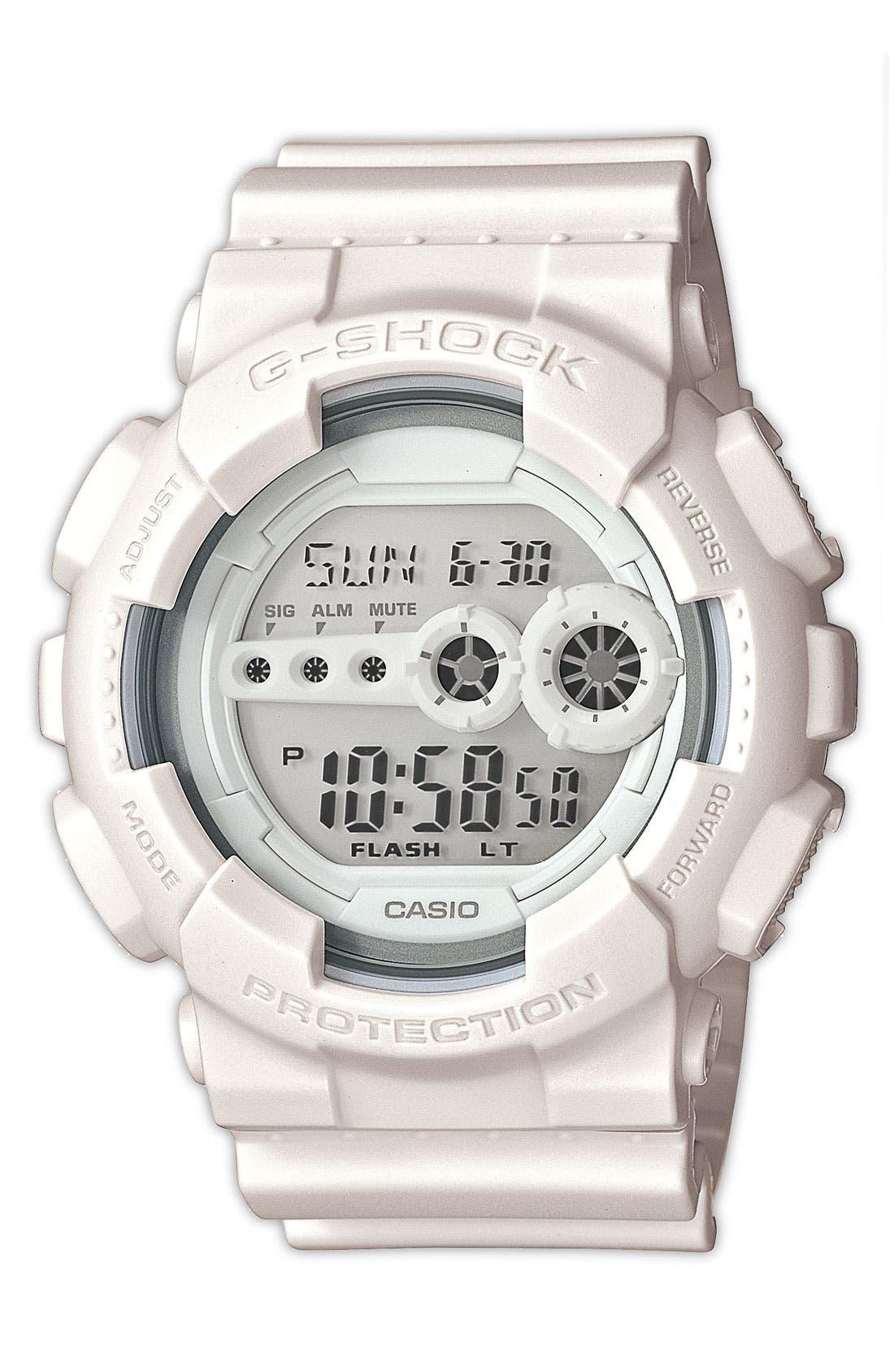 Main Image - G-Shock 'Super Luminosity' Digital Watch, 51mm