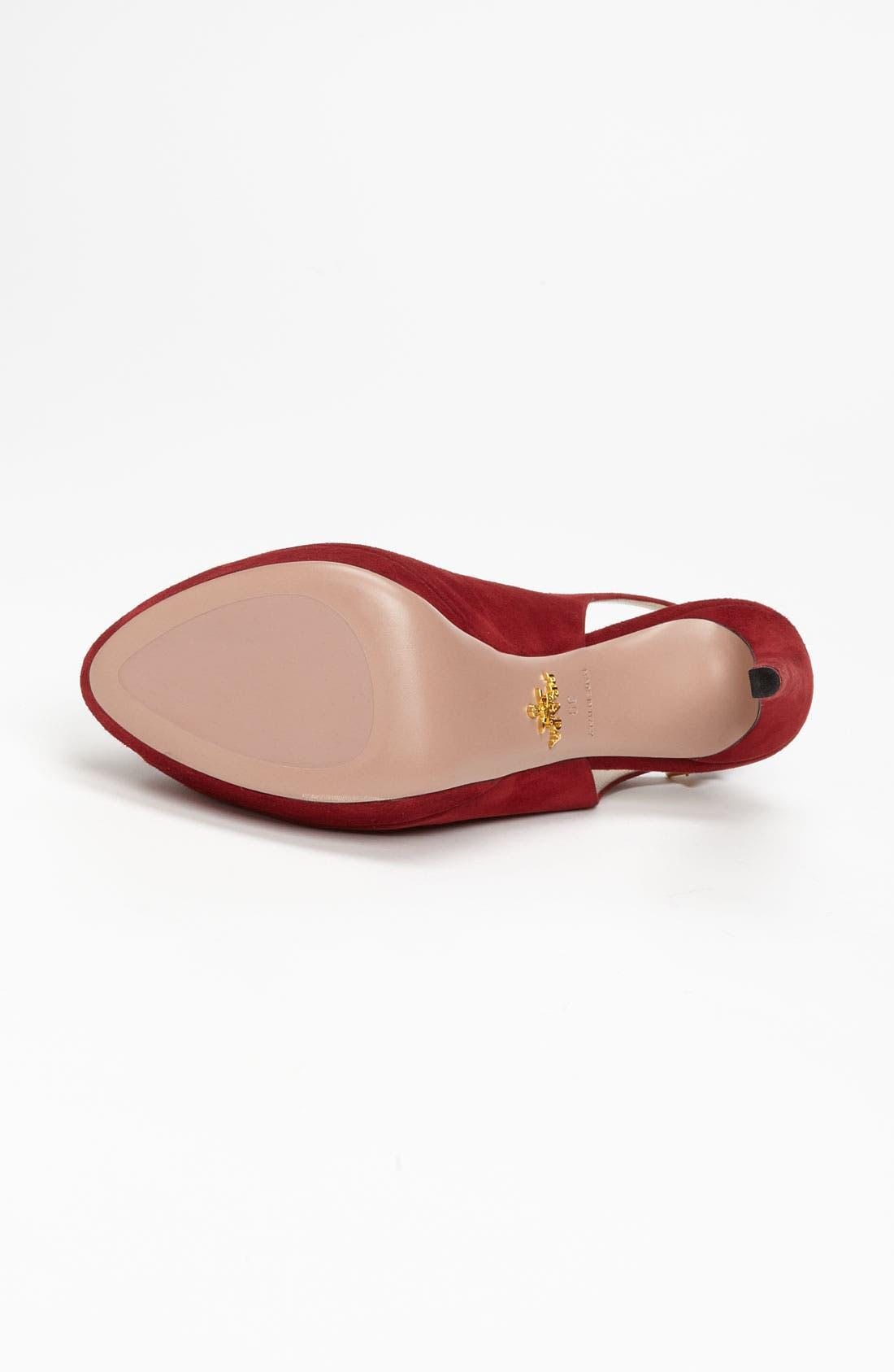 Alternate Image 4  - Prada Cutout Sandal