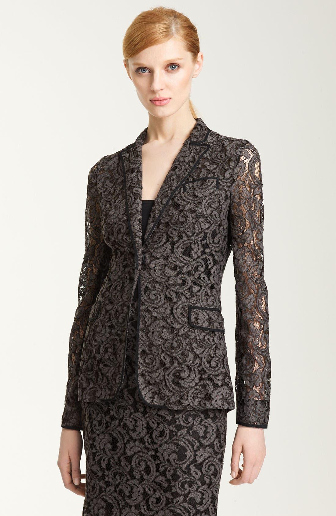 Main Image - Moschino Cheap & Chic Lace Jacket