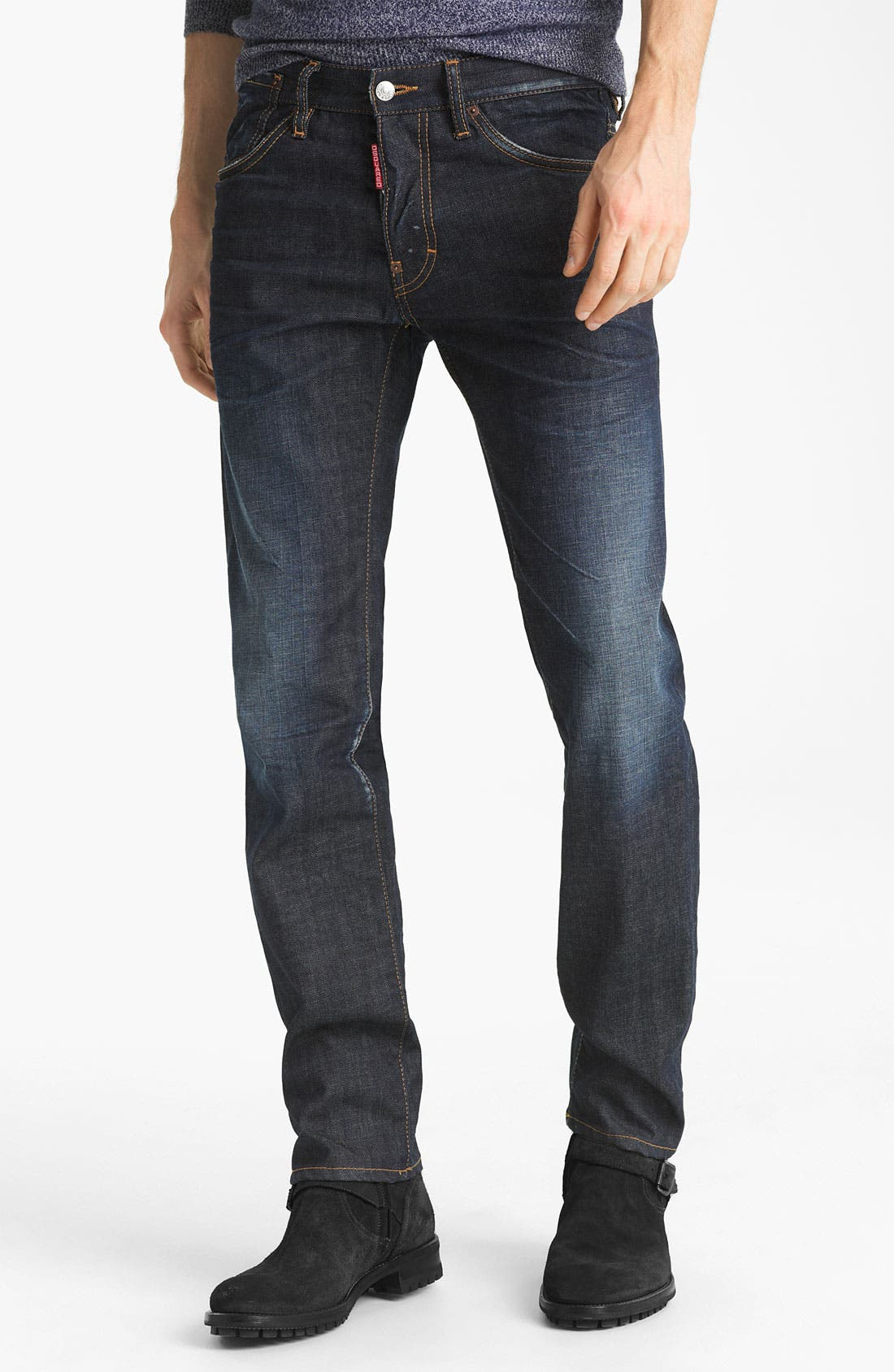 Alternate Image 2  - Dsquared2 'Dean' Slim Fit Jeans (Everywhere)