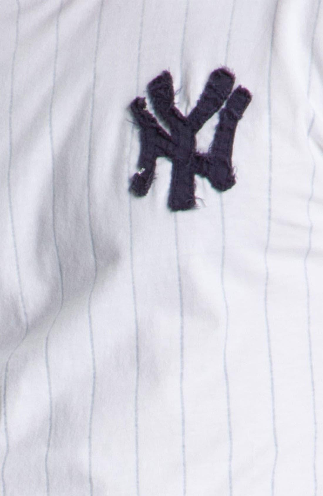 Alternate Image 3  - Red Jacket 'New York Yankees' Trim Fit Ringer T-Shirt (Men)