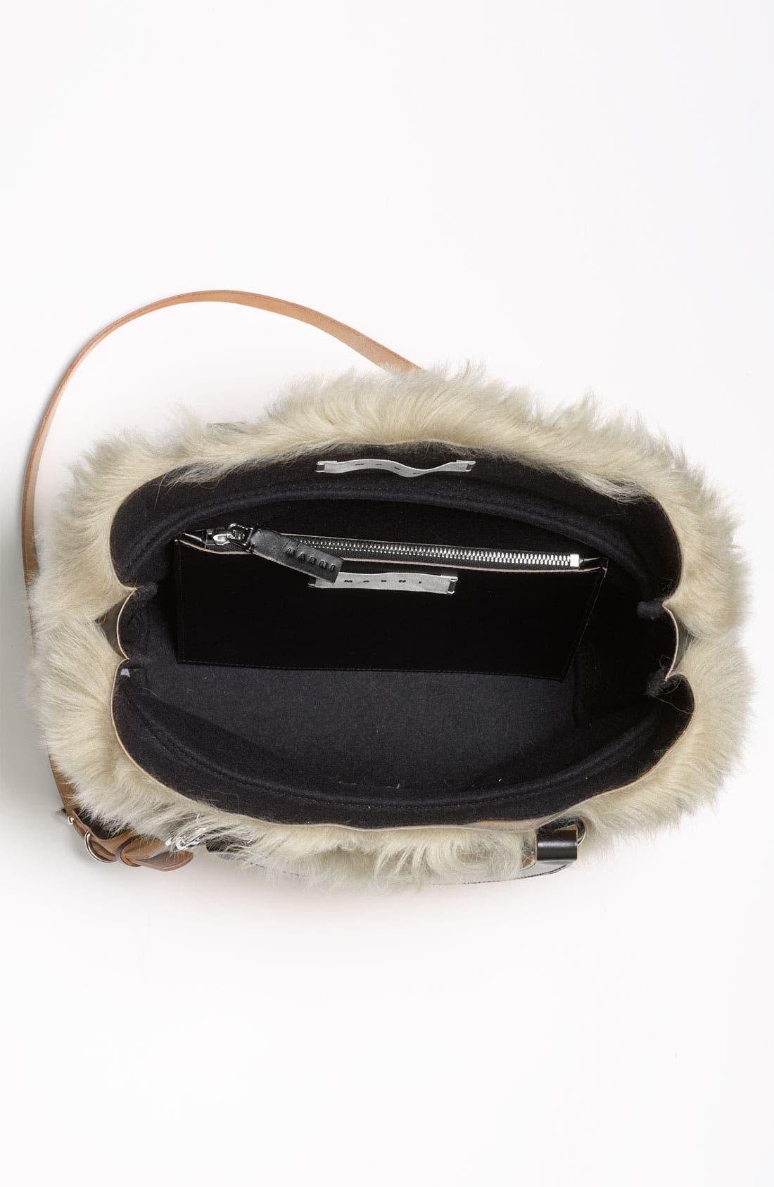 Alternate Image 3  - Marni Shearling Crossbody Bag