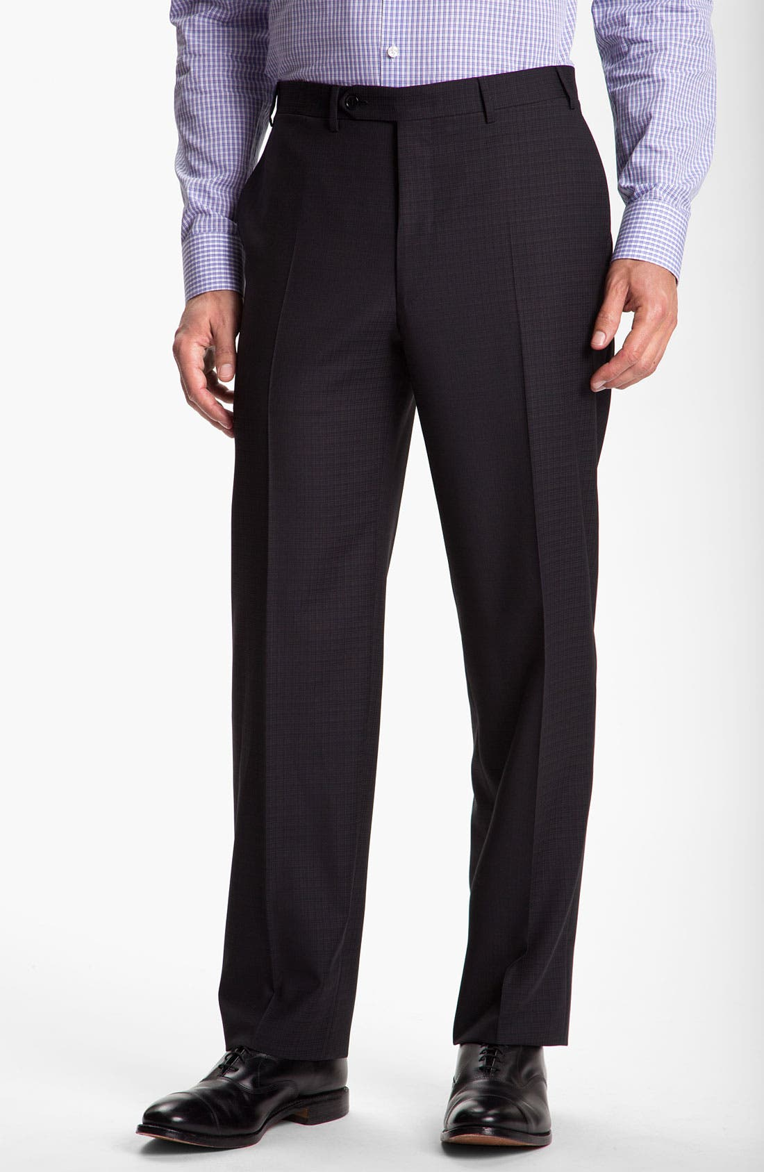 Alternate Image 4  - Canali Windowpane Wool Suit