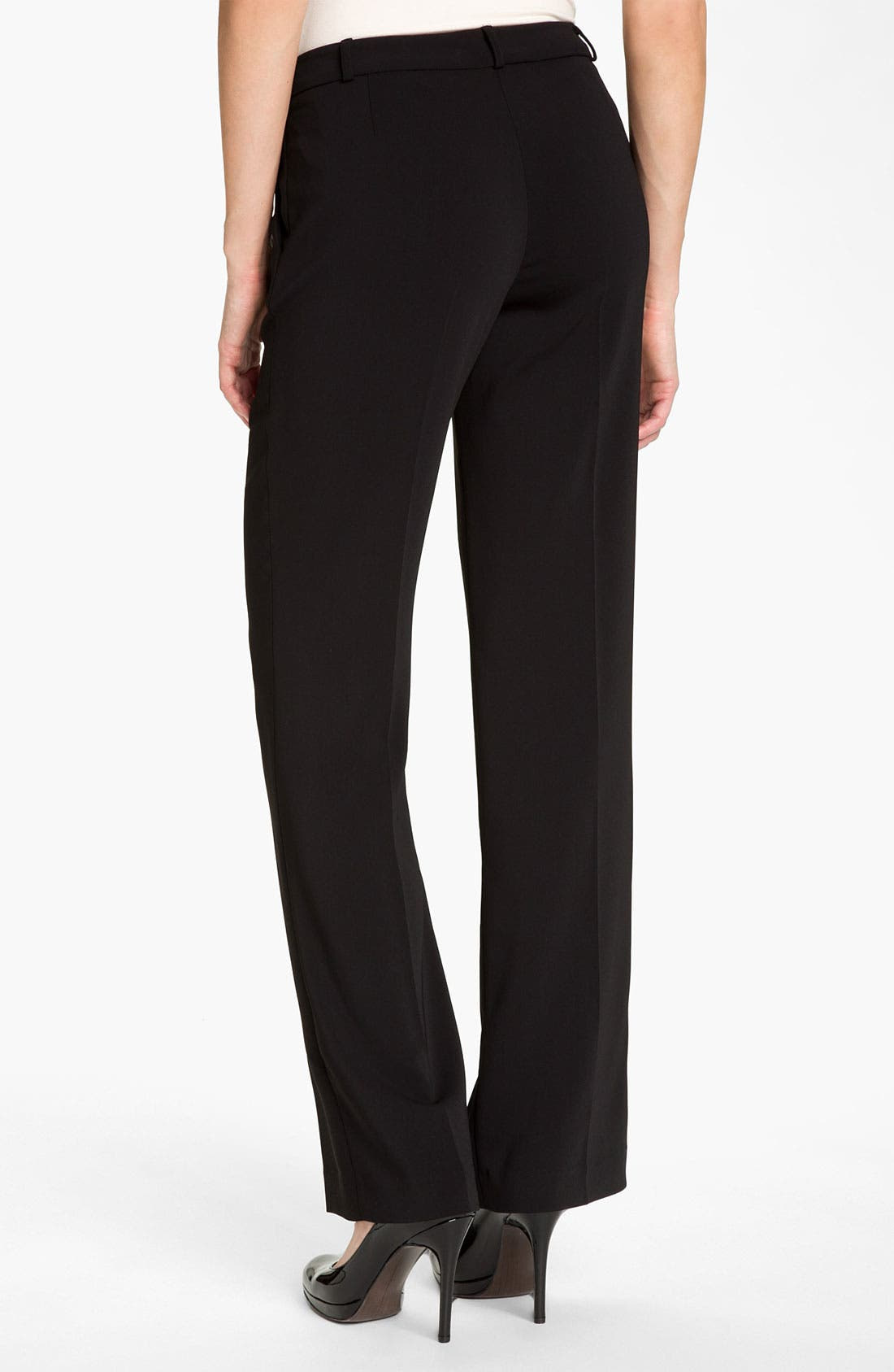 Alternate Image 2  - JS Collections Straight Leg Stretch Trousers