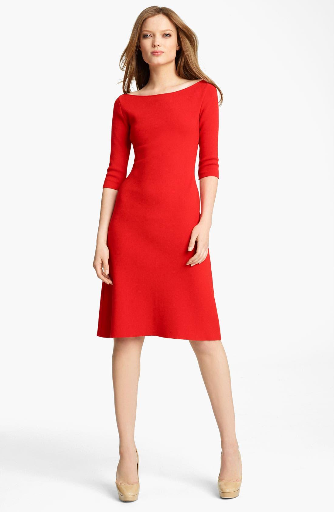 Alternate Image 1 Selected - Blumarine Sponge Knit Dress