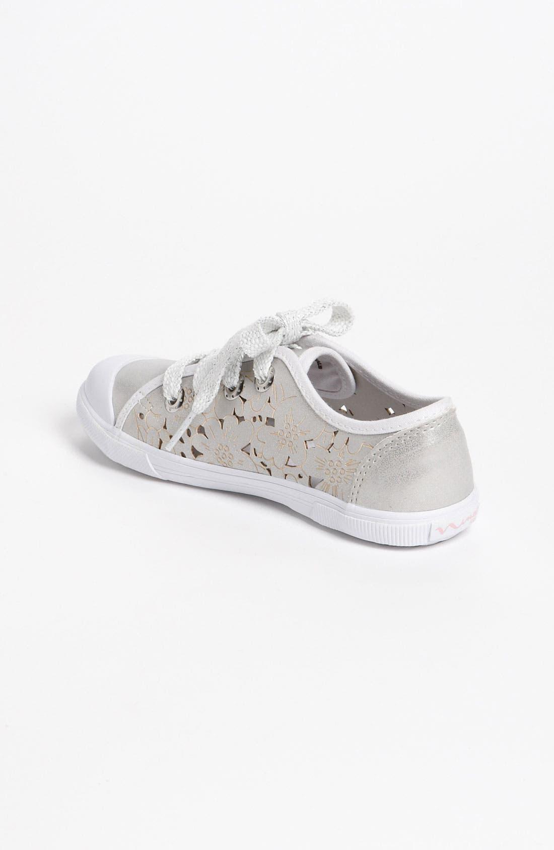 Alternate Image 2  - Nina 'Lazor' Sneaker (Walker, Toddler, Little Kid & Big Kid)
