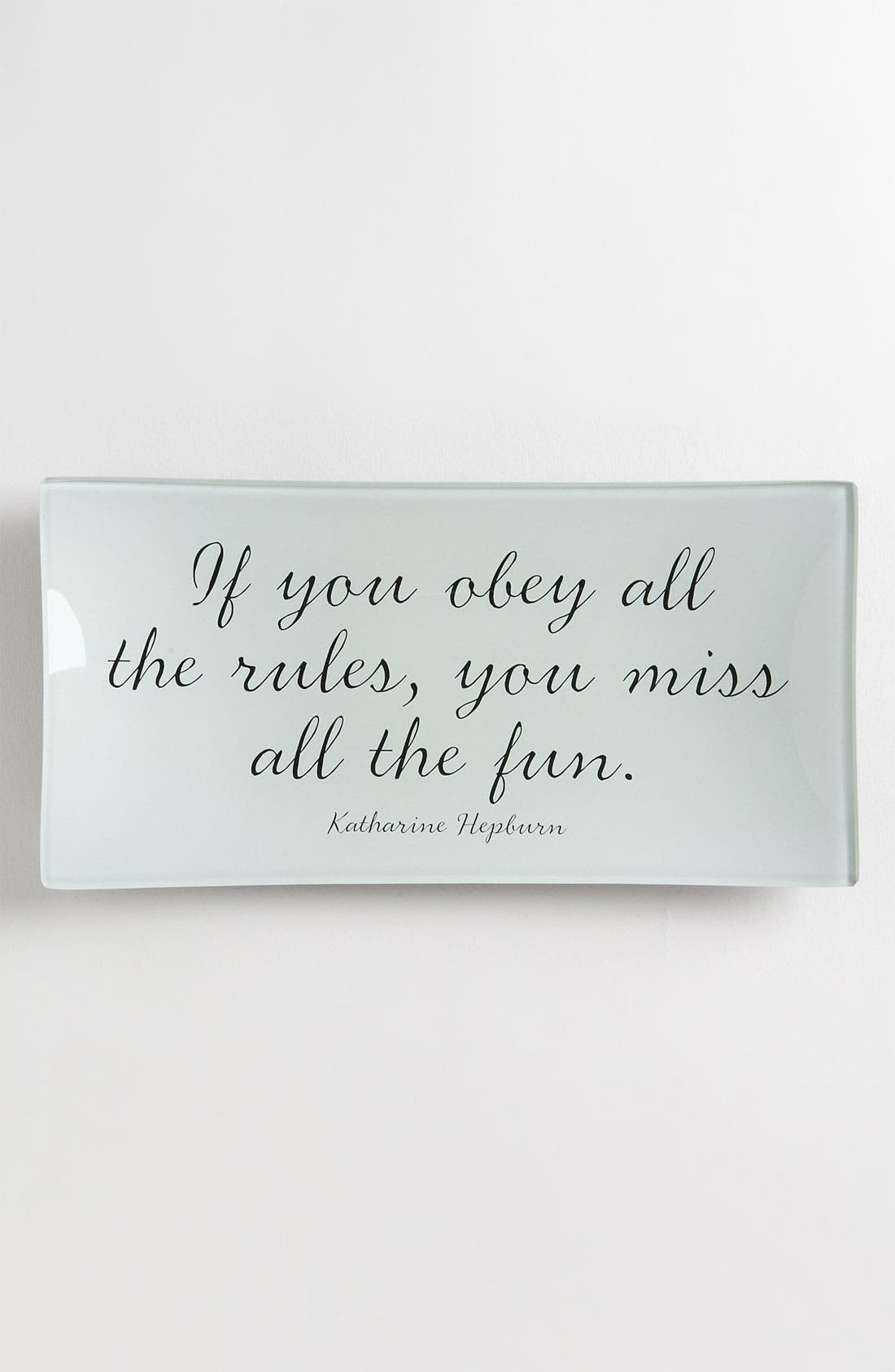 Main Image - Ben's Garden 'If You Obey All the Rules' Trinket Tray