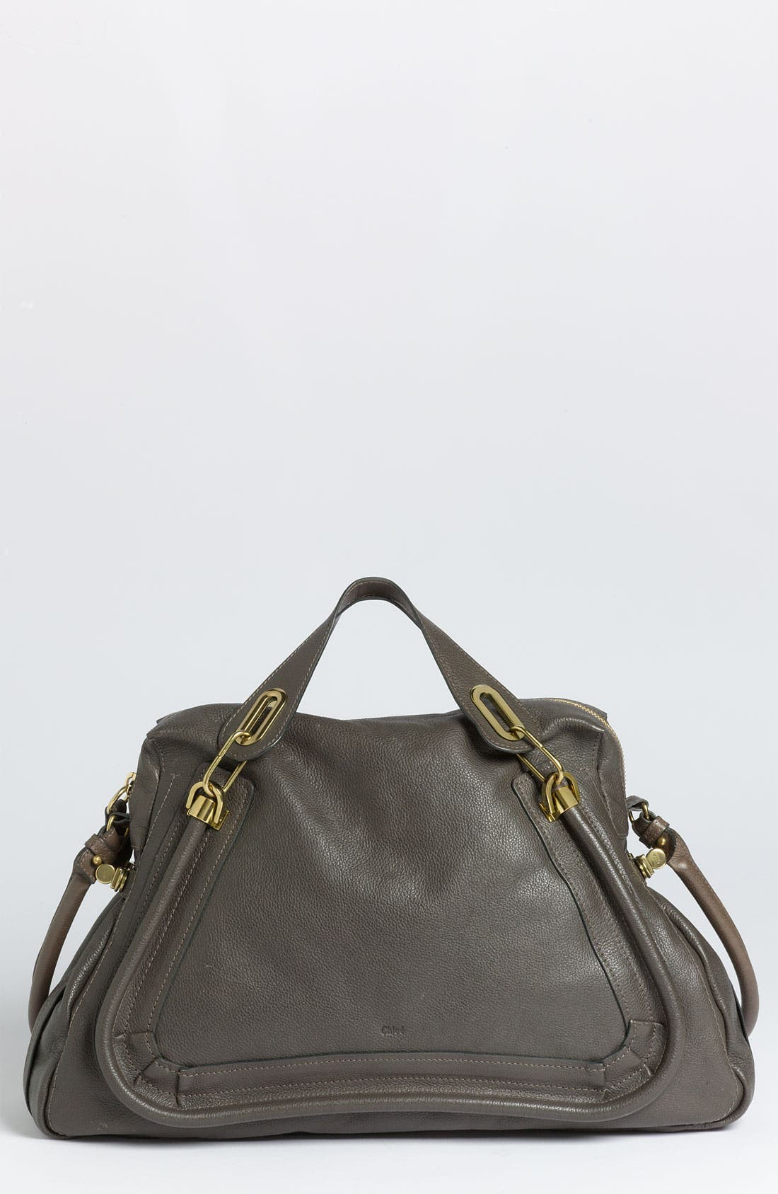 Alternate Image 1 Selected - Chloé 'Paraty - Large' Calfskin Leather Satchel
