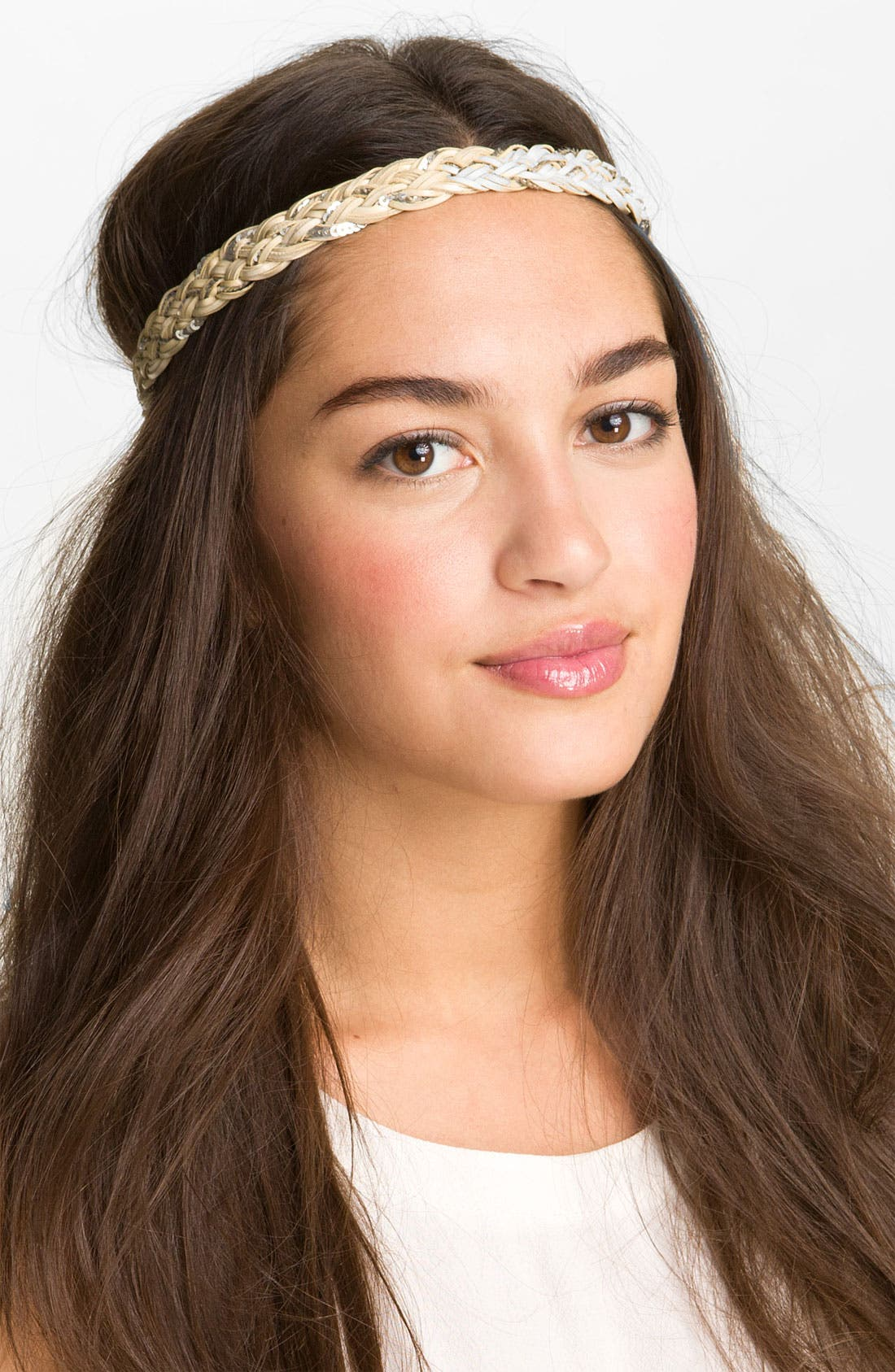 Alternate Image 1 Selected - Carole Braided Headwrap
