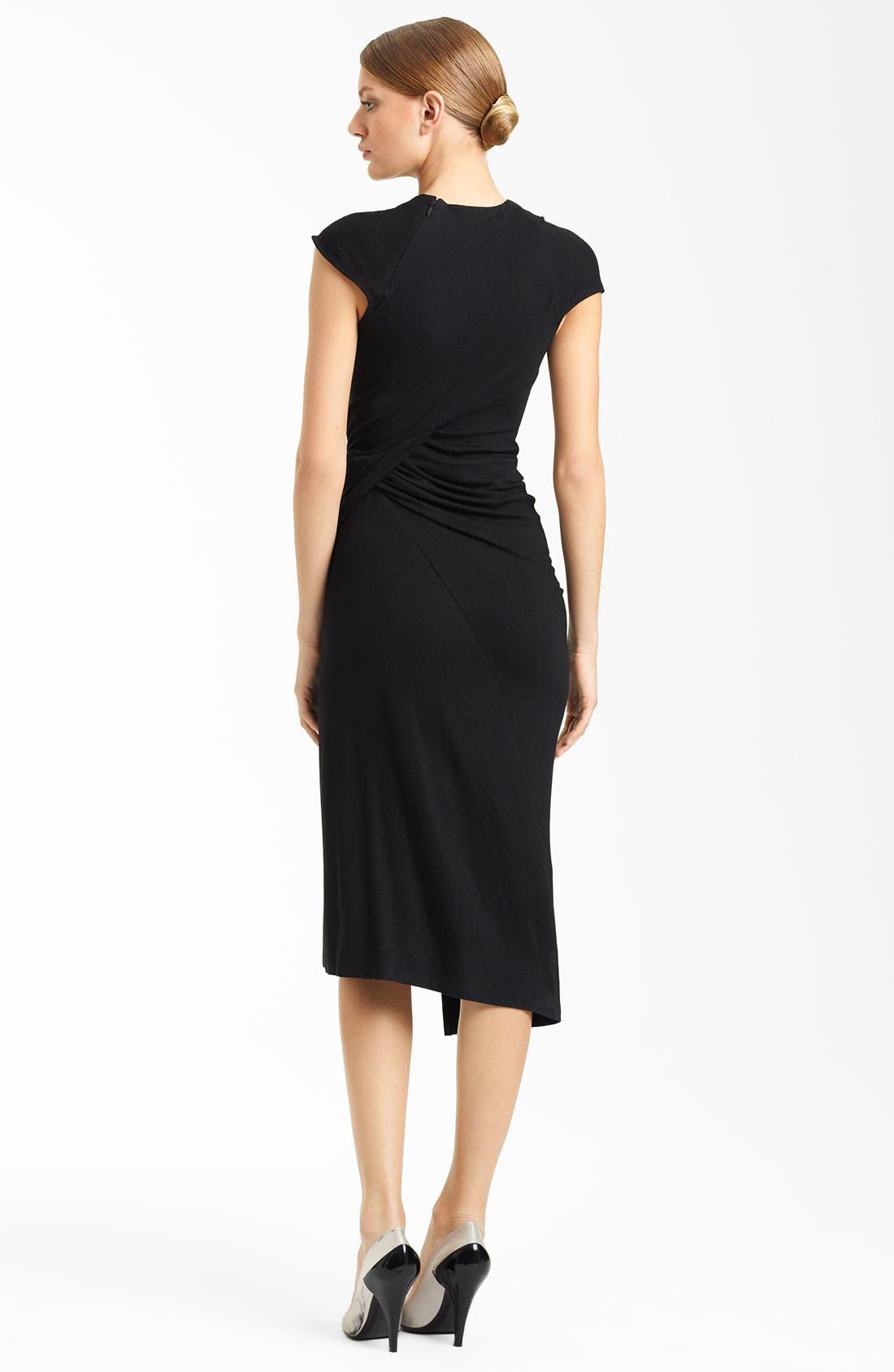 Alternate Image 2  - Donna Karan Collection Side Drape Jersey Dress
