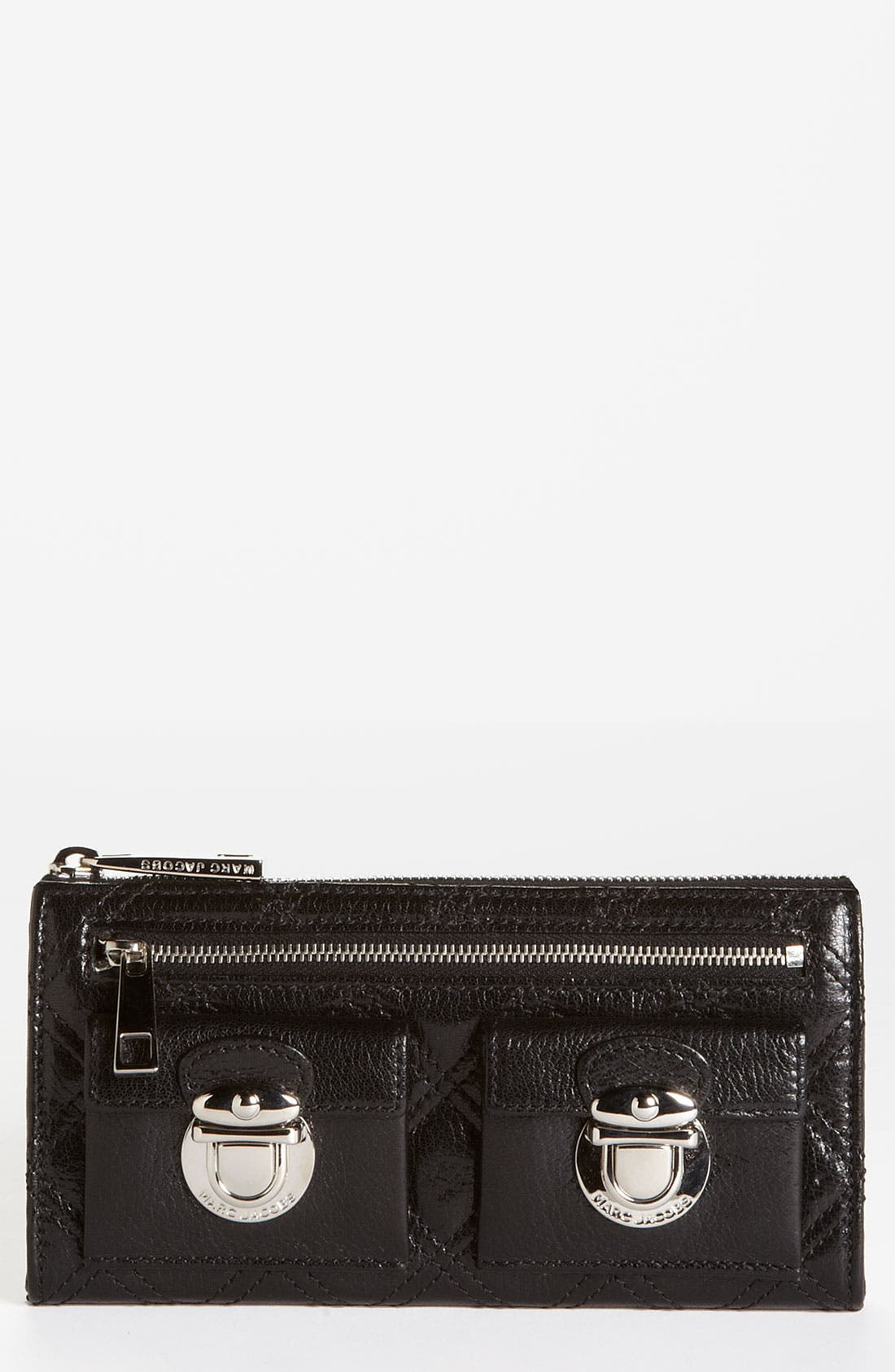 Alternate Image 1 Selected - MARC JACOBS 'Zip Deluxe' Leather Wallet