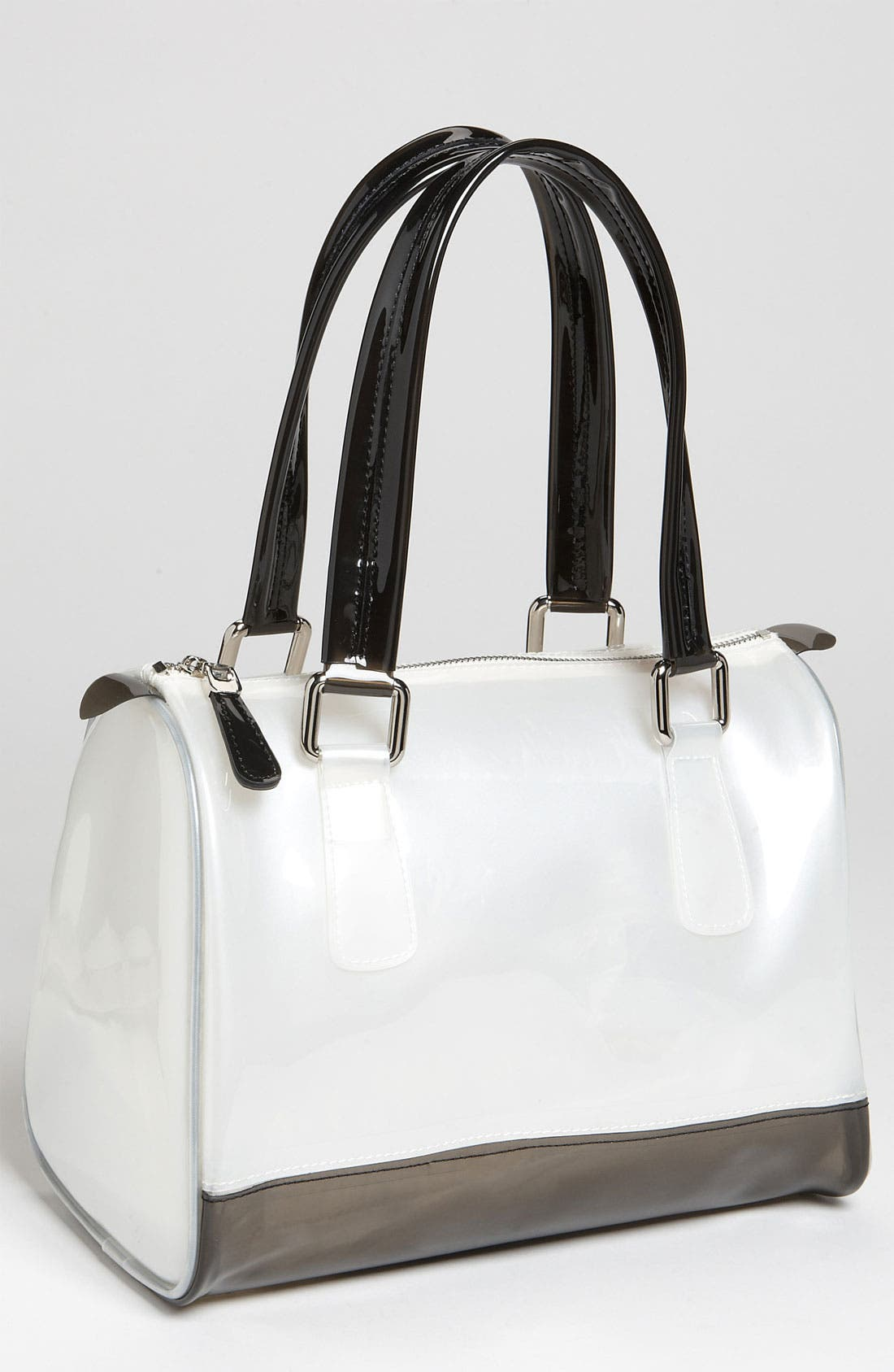 Main Image - Melie Bianco 'Sophie' Shiny Jelly Satchel