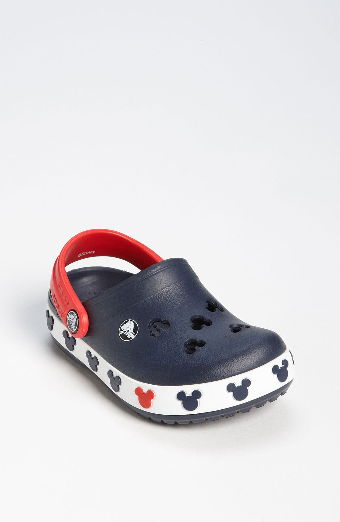 Main Image - CROCS™ 'Mickey®' Slip-On (Walker & Toddler)