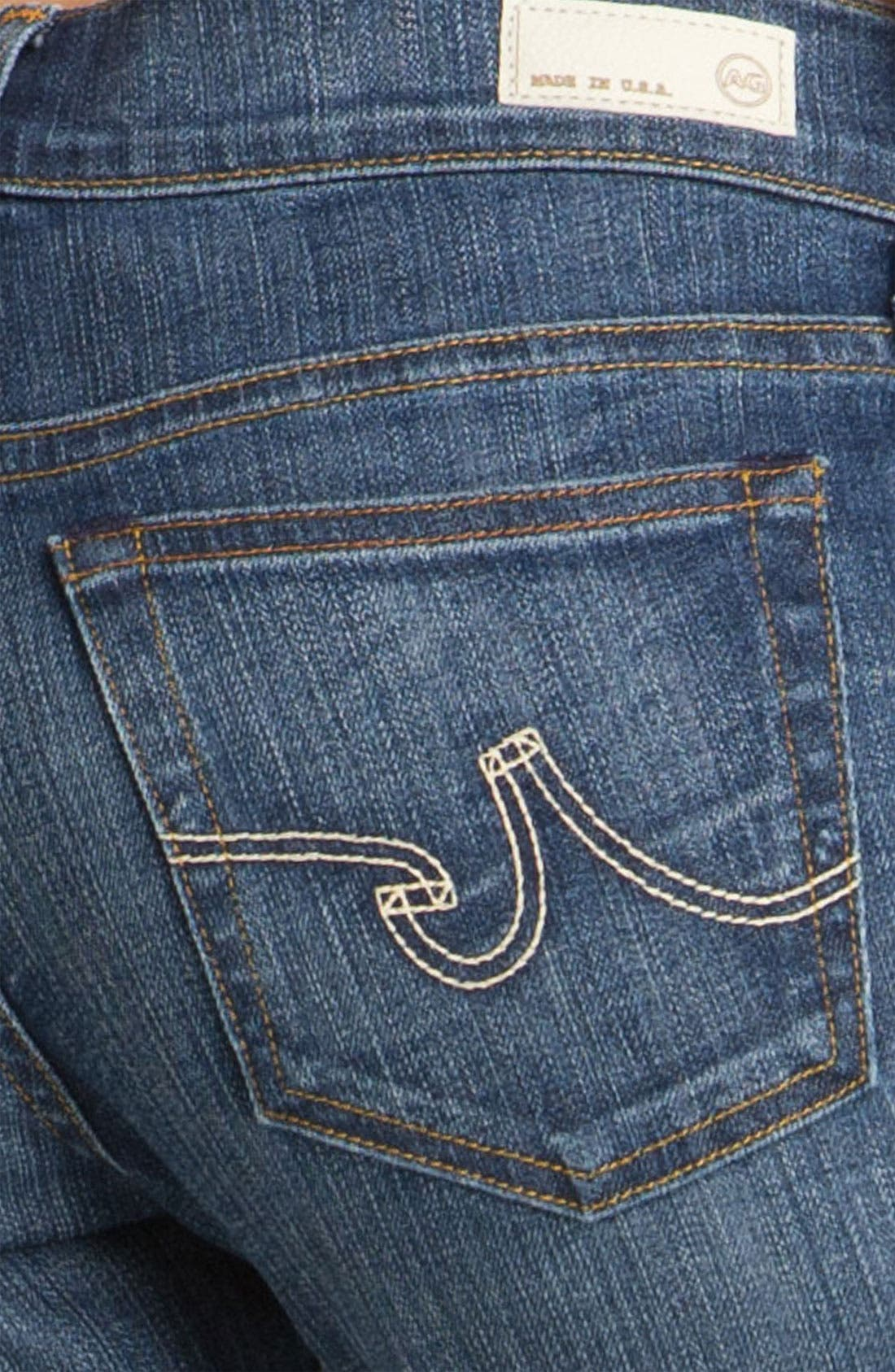 Alternate Image 3  - AG Jeans 'Tomboy' Crop Stretch Jeans (10 Year Vintage)