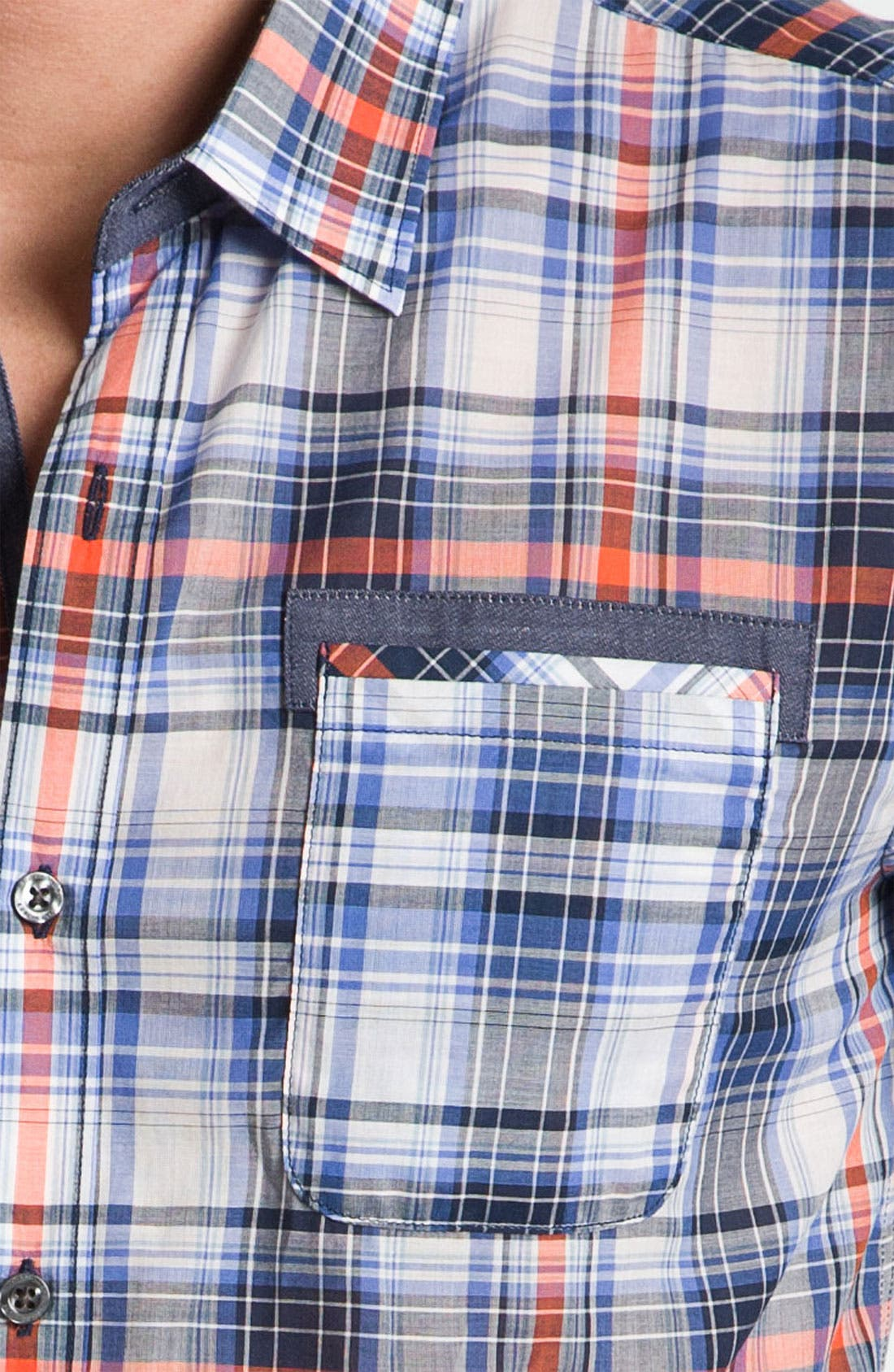 Alternate Image 3  - 7 Diamonds 'In The Mood' Plaid Woven Shirt