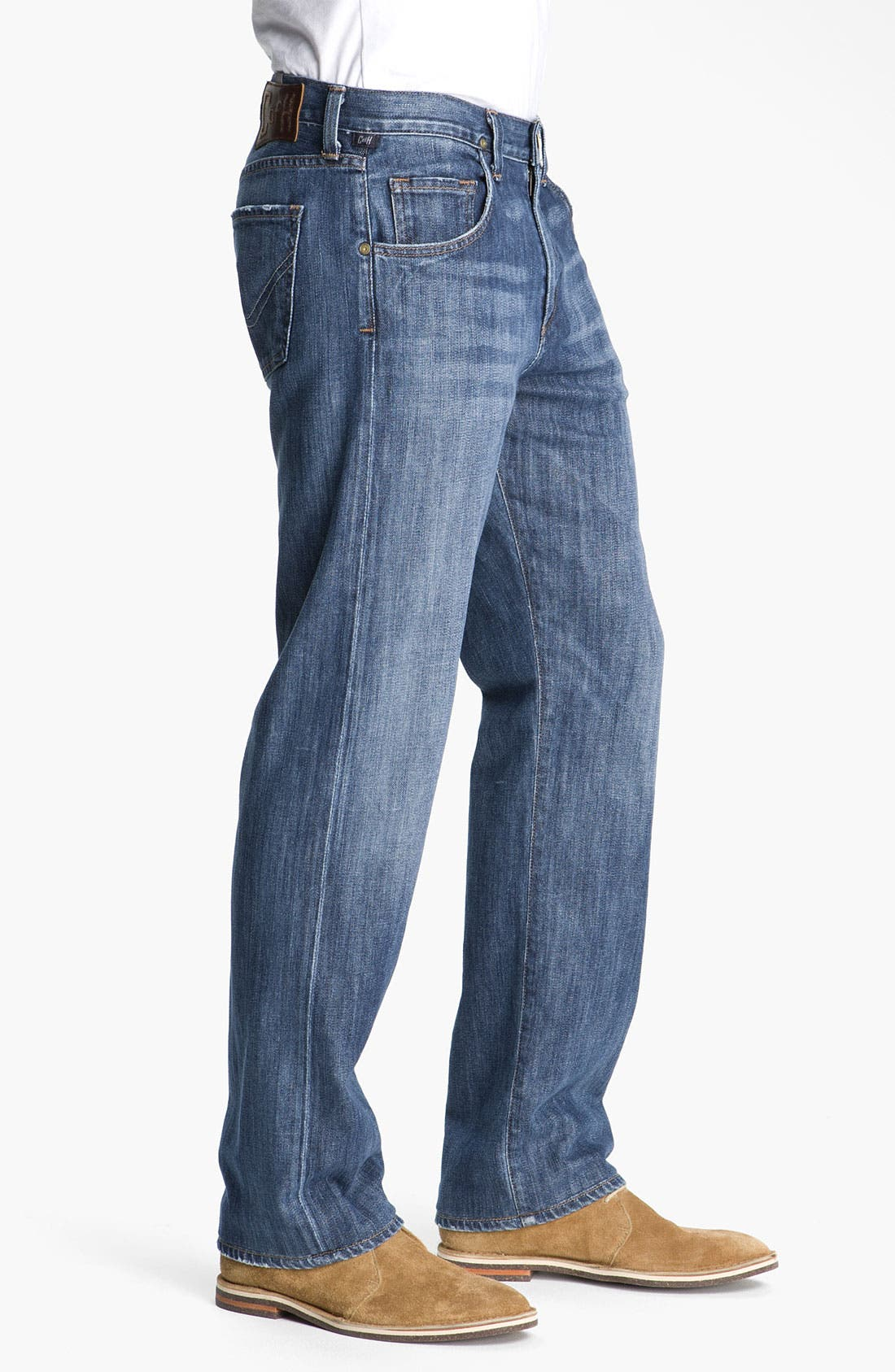 Alternate Image 2  - Citizens of Humanity 'Perfect' Casual Fit Straight Leg Jeans (Stud)
