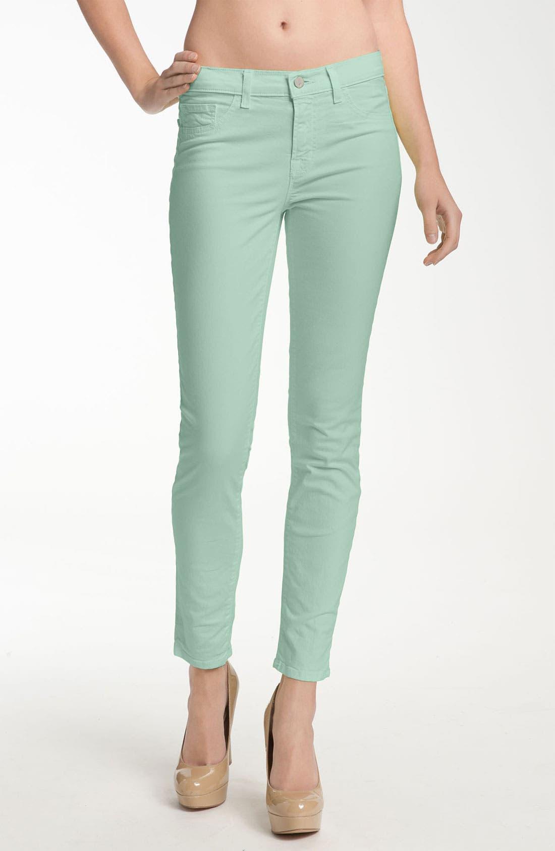 Alternate Image 1 Selected - J Brand Skinny Stretch Twill Pants