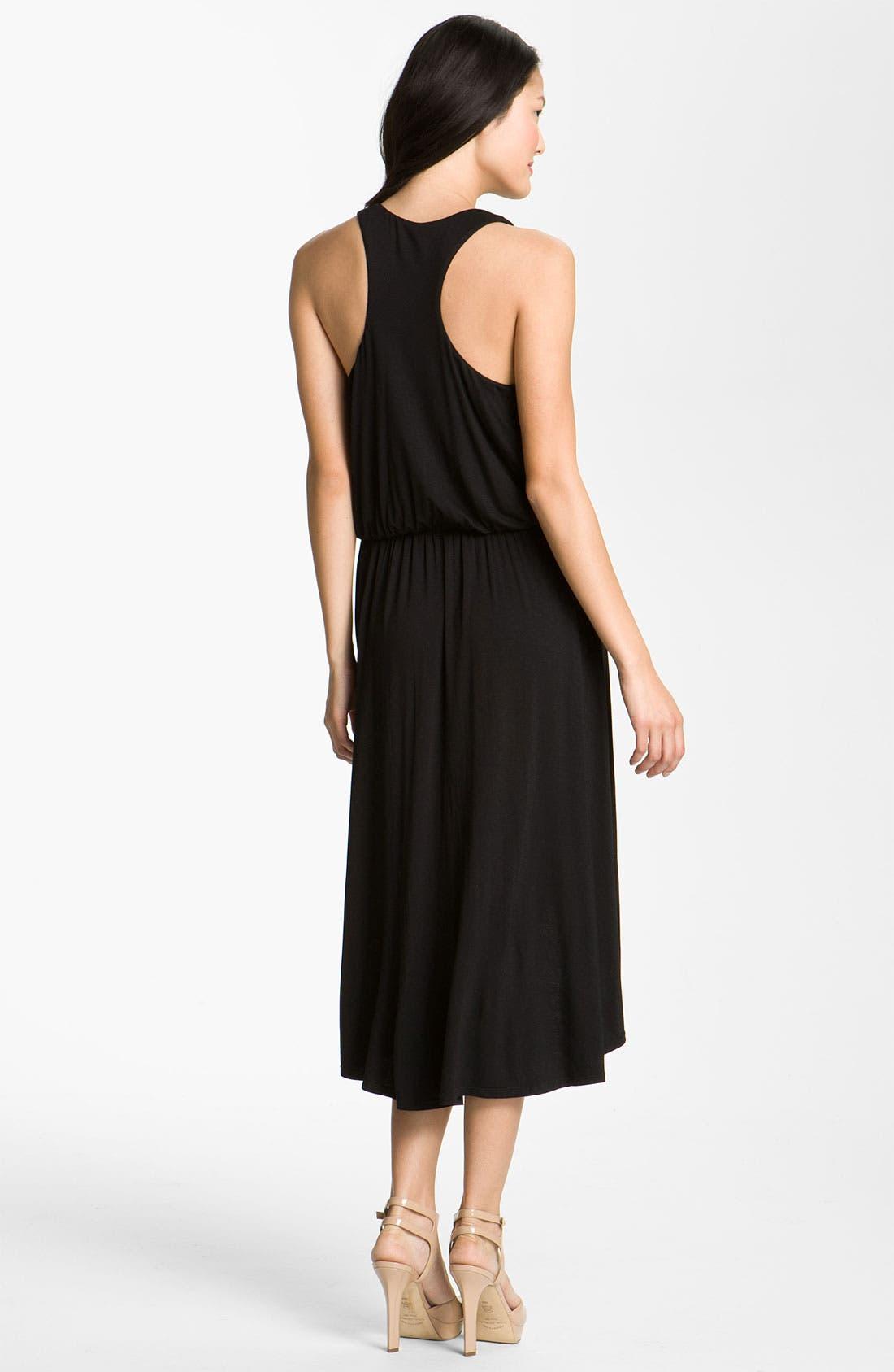 Alternate Image 2  - Bobeau Racerback Jersey Dress