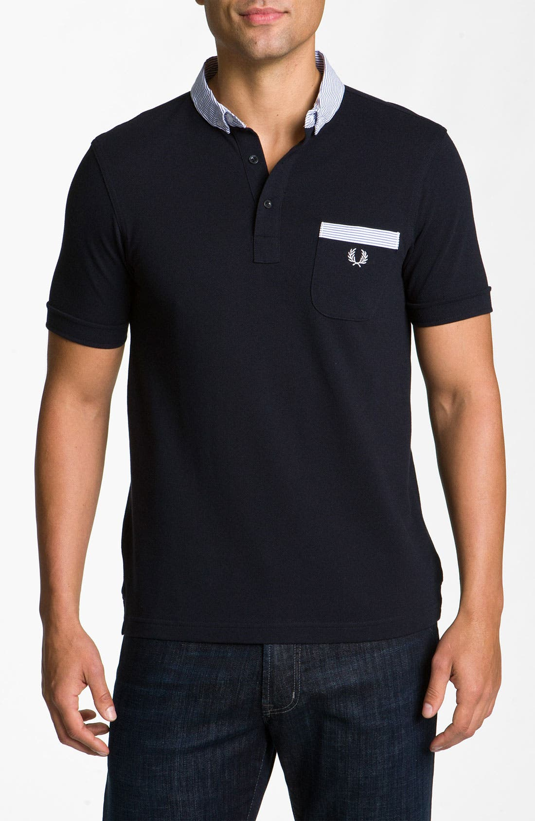 Alternate Image 1 Selected - Fred Perry Trim Fit Polo