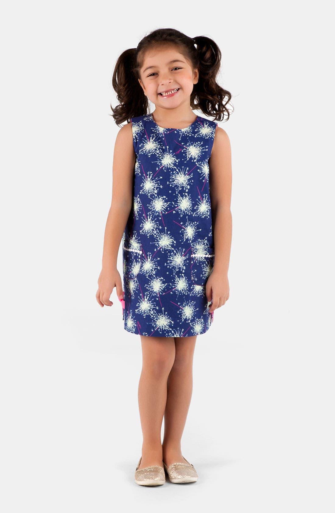 Alternate Image 1 Selected - Lilly Pulitzer® Shift Dress (Little Girls & Big Girls)