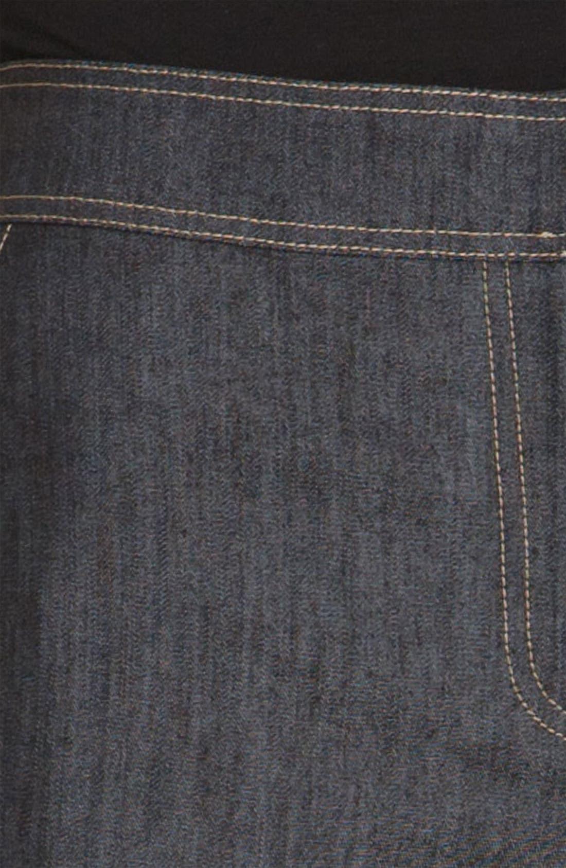 Alternate Image 4  - St. John Collection Lightweight Crop Denim Pants