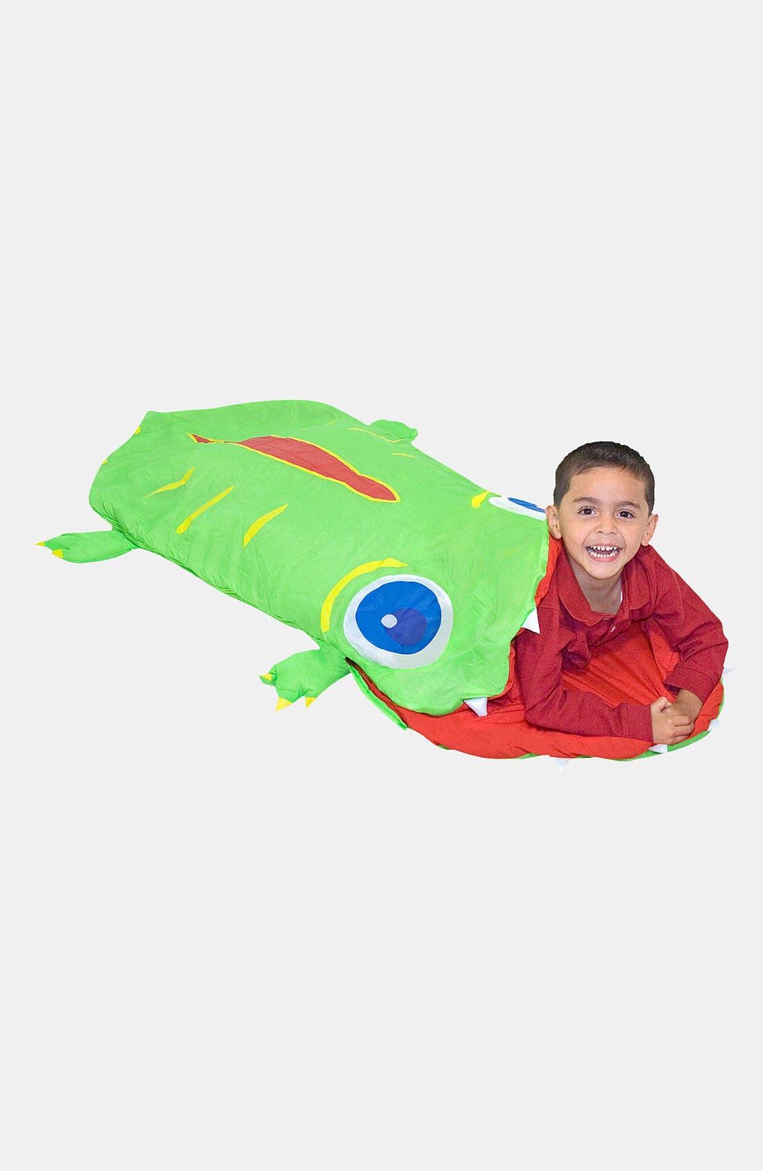 Alternate Image 1 Selected - Melissa & Doug 'Augie Alligator' Sleeping Bag