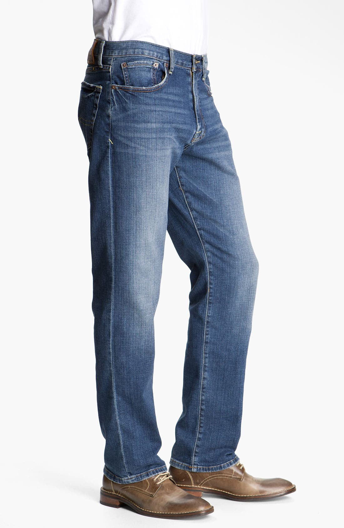 Alternate Image 2  - Lucky Brand 'Classic' Straight Leg Jeans (Croft)