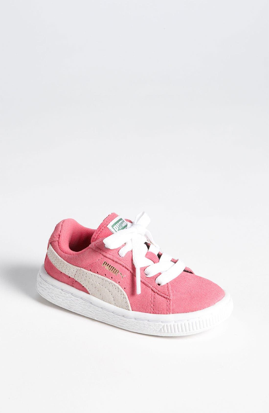 Alternate Image 1 Selected - PUMA 'Suede Classic' Sneaker (Baby, Walker, Toddler, Little Kid & Big Kid)